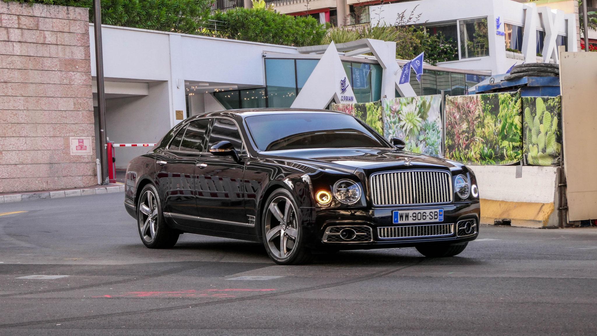 Bentley Mulsanne - WW-906-SB-06 (FRA)