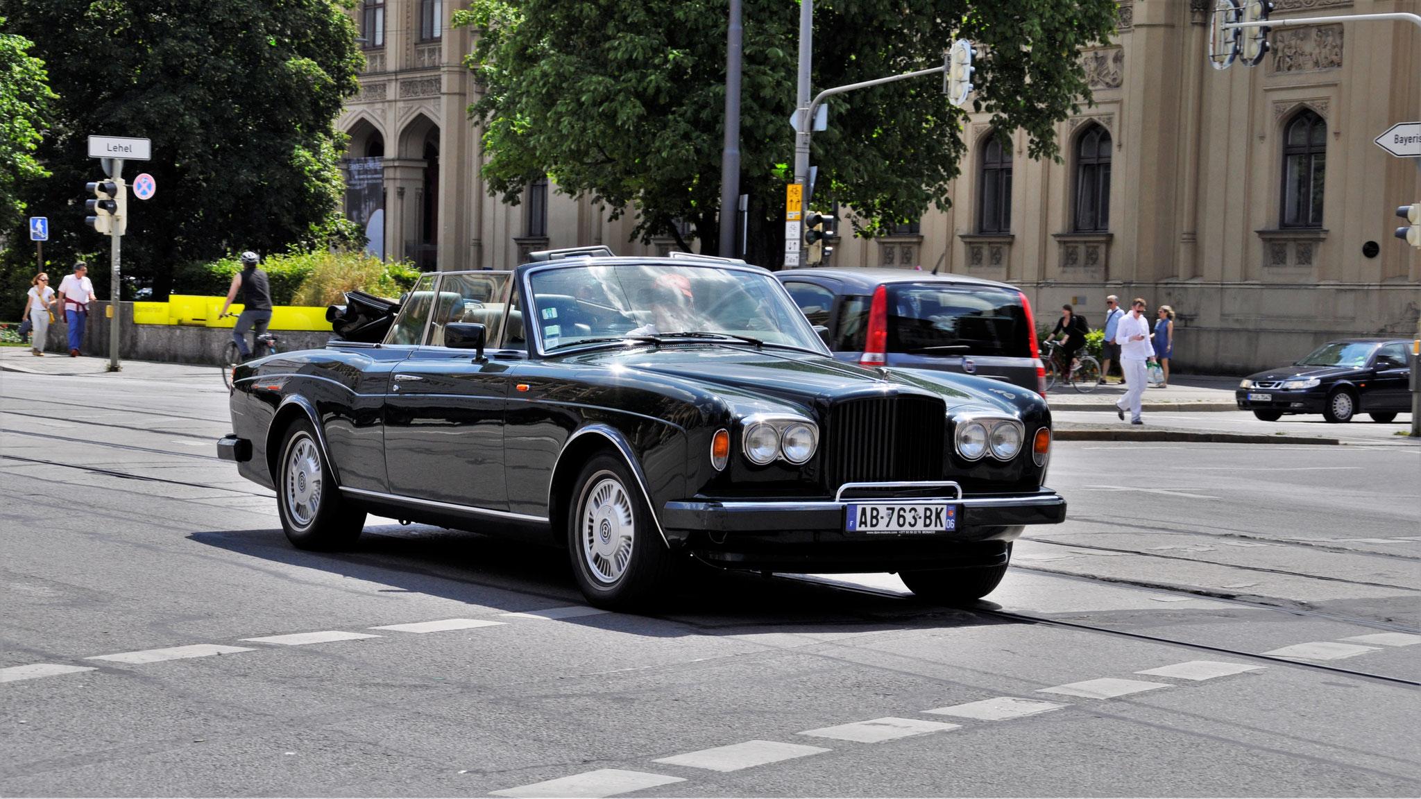 Bentley Corniche - AB-763-BK-06 (FRA)