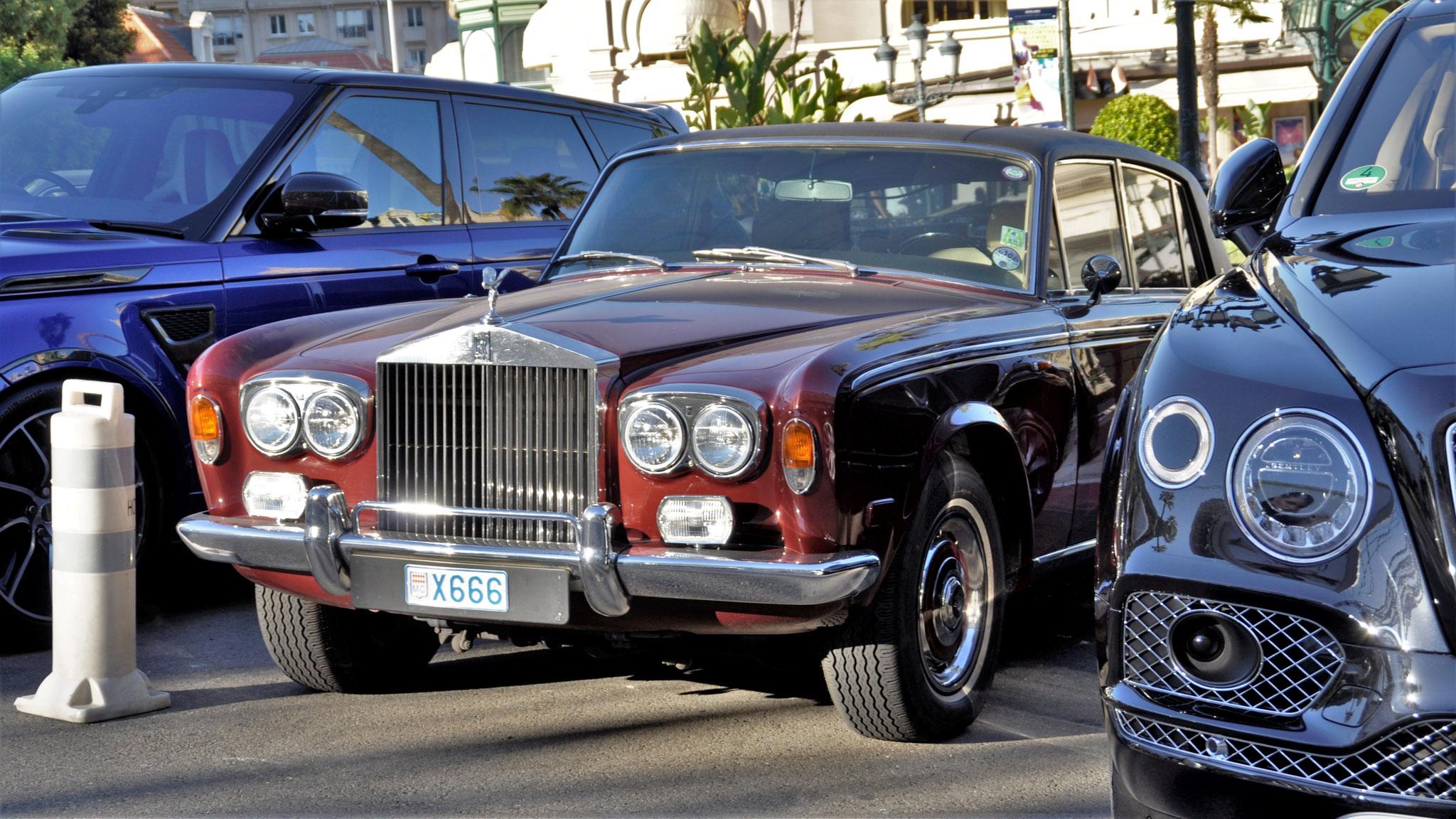 Rolls Royce Silver Shadow - X666 (MC)