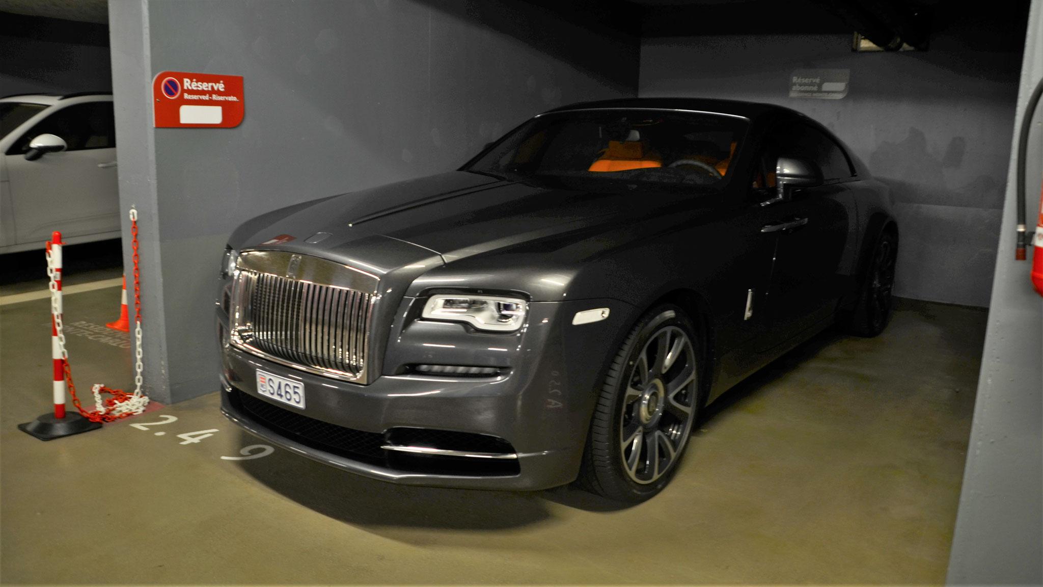Rolls Royce Wraith - S465 (MC)