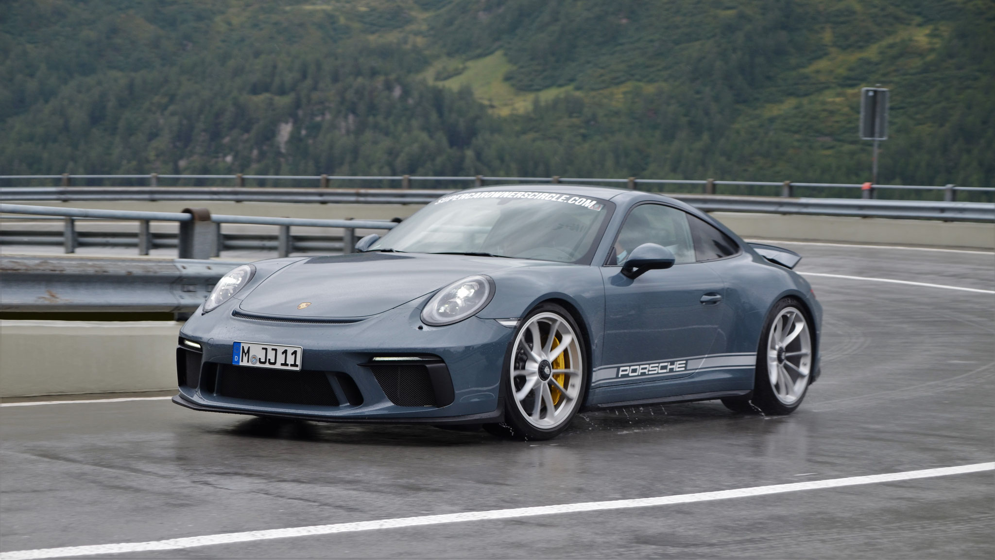 Porsche 991 GT3 Touring Package - M-JJ-11