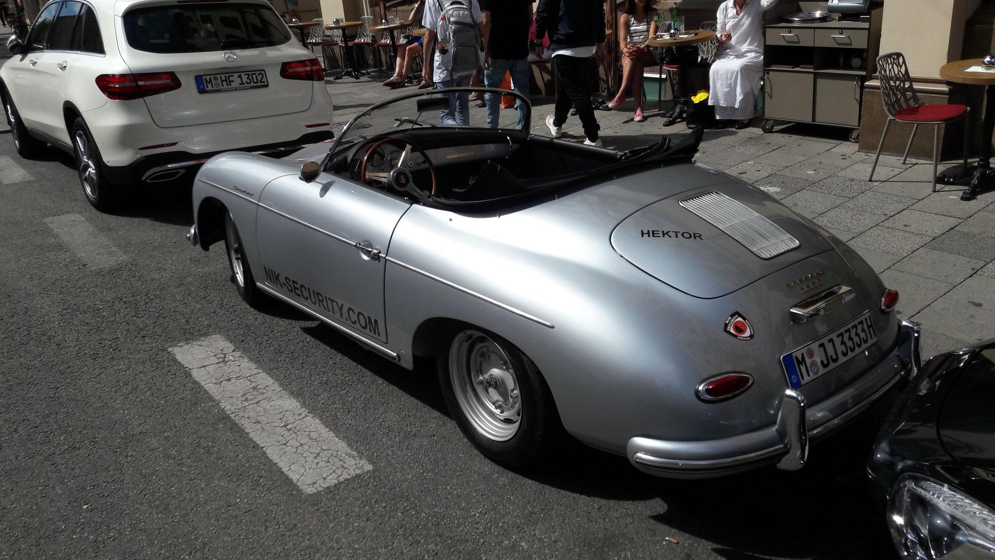 Porsche 356 1500 Speedster - M-JJ-3333H