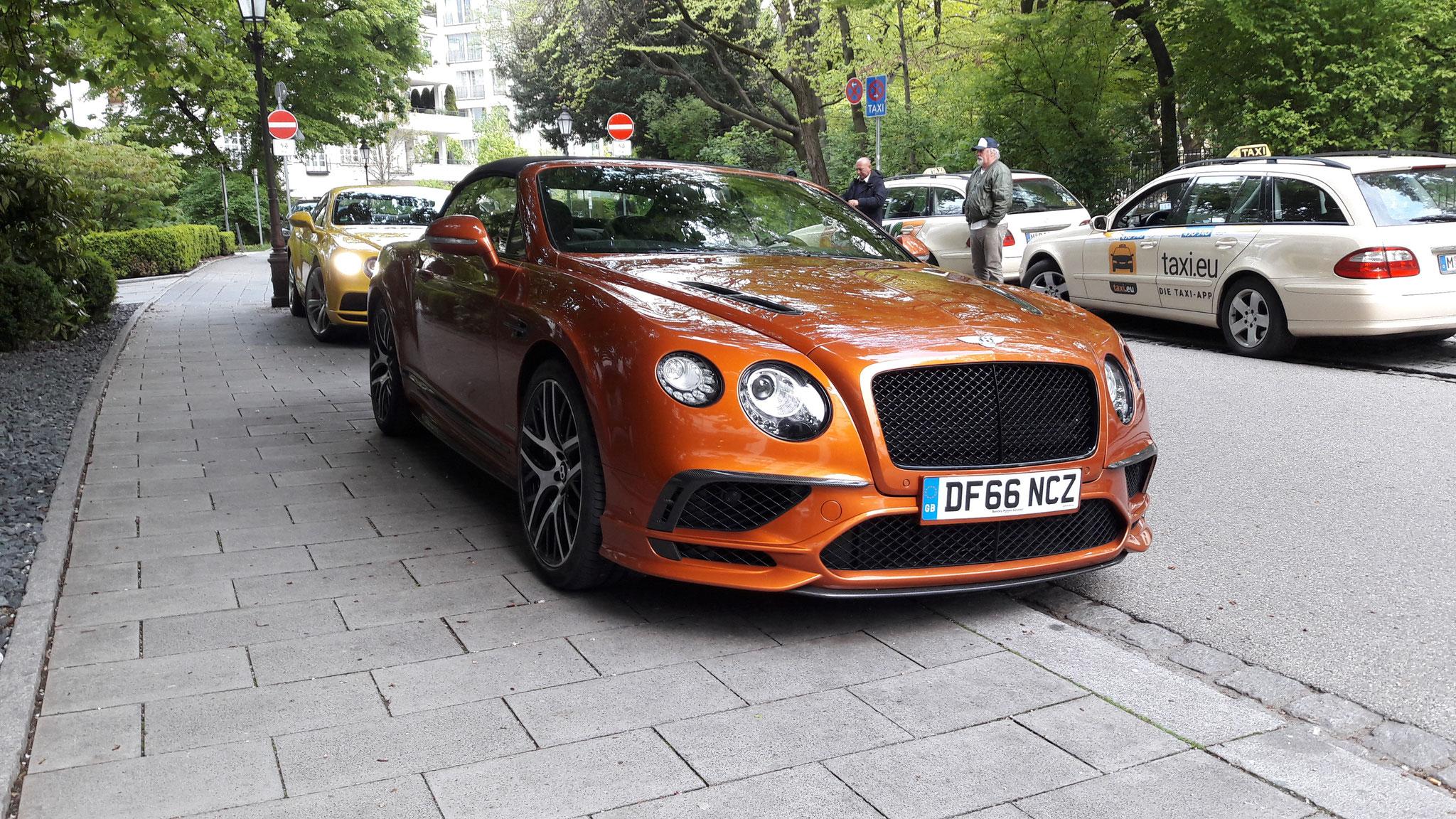 Bentley Continental GTC V8 S - DF66-NCZ