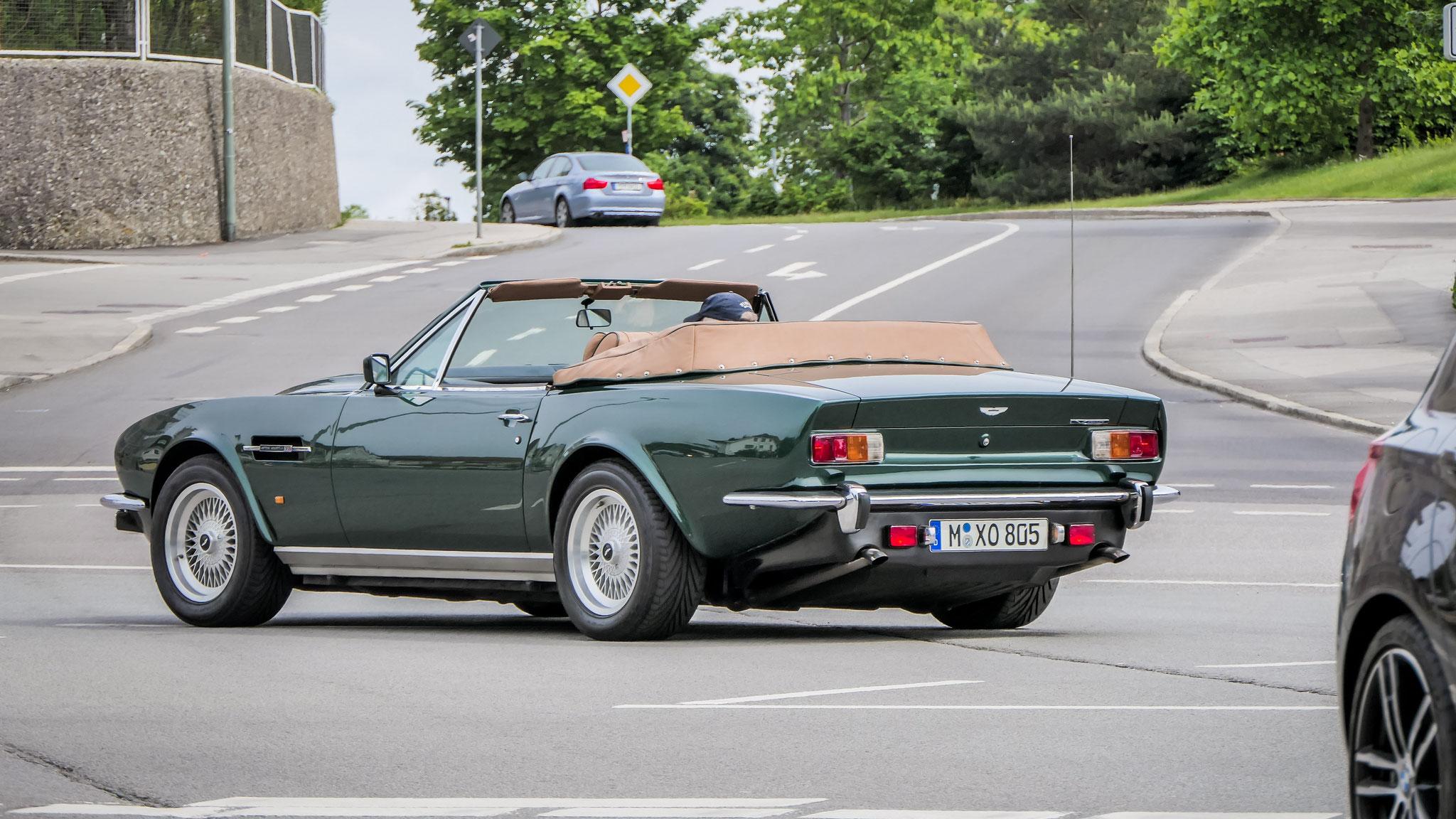 Aston Martin V8 Vantage Volante - M-XO-805