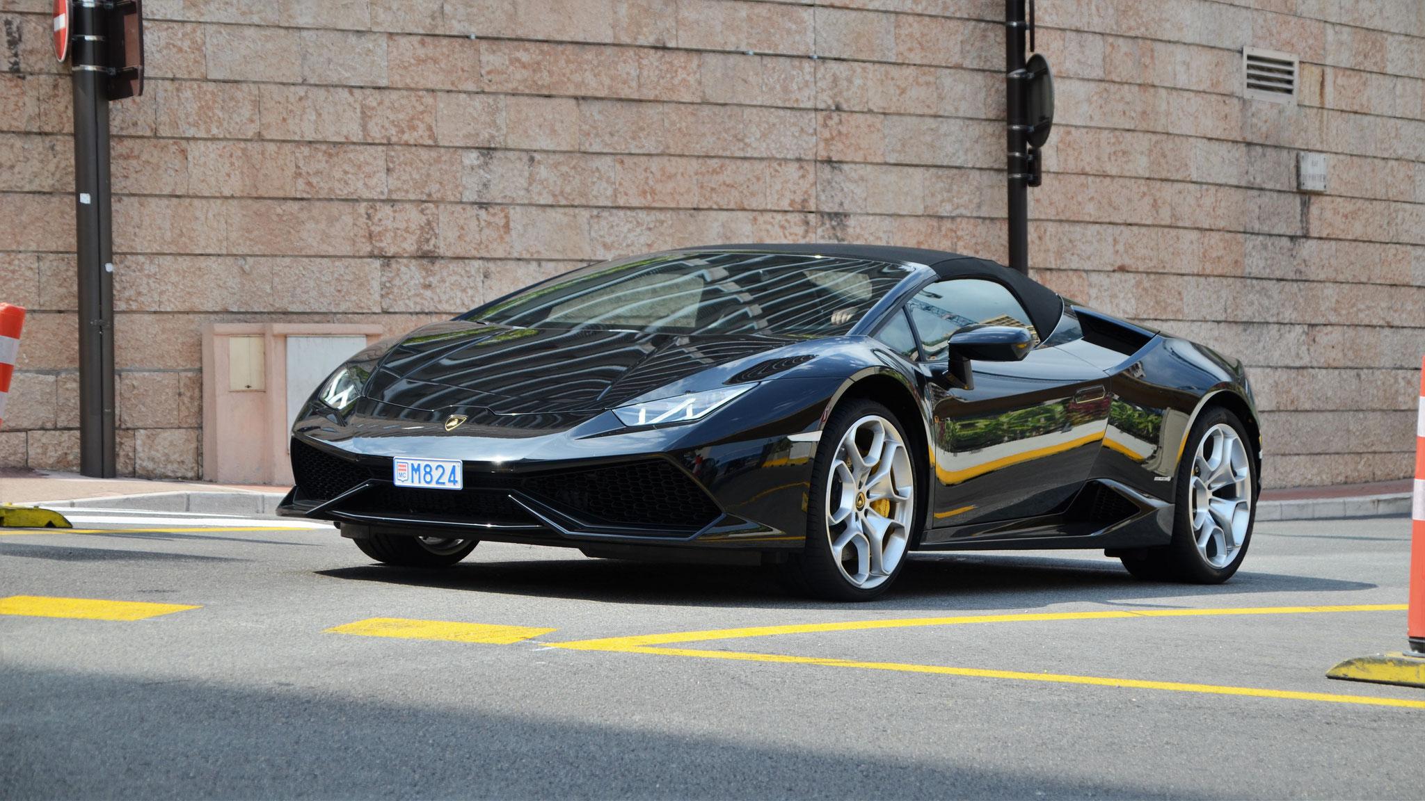 Lamborghini Huracan Spyder  - M824 (MC)