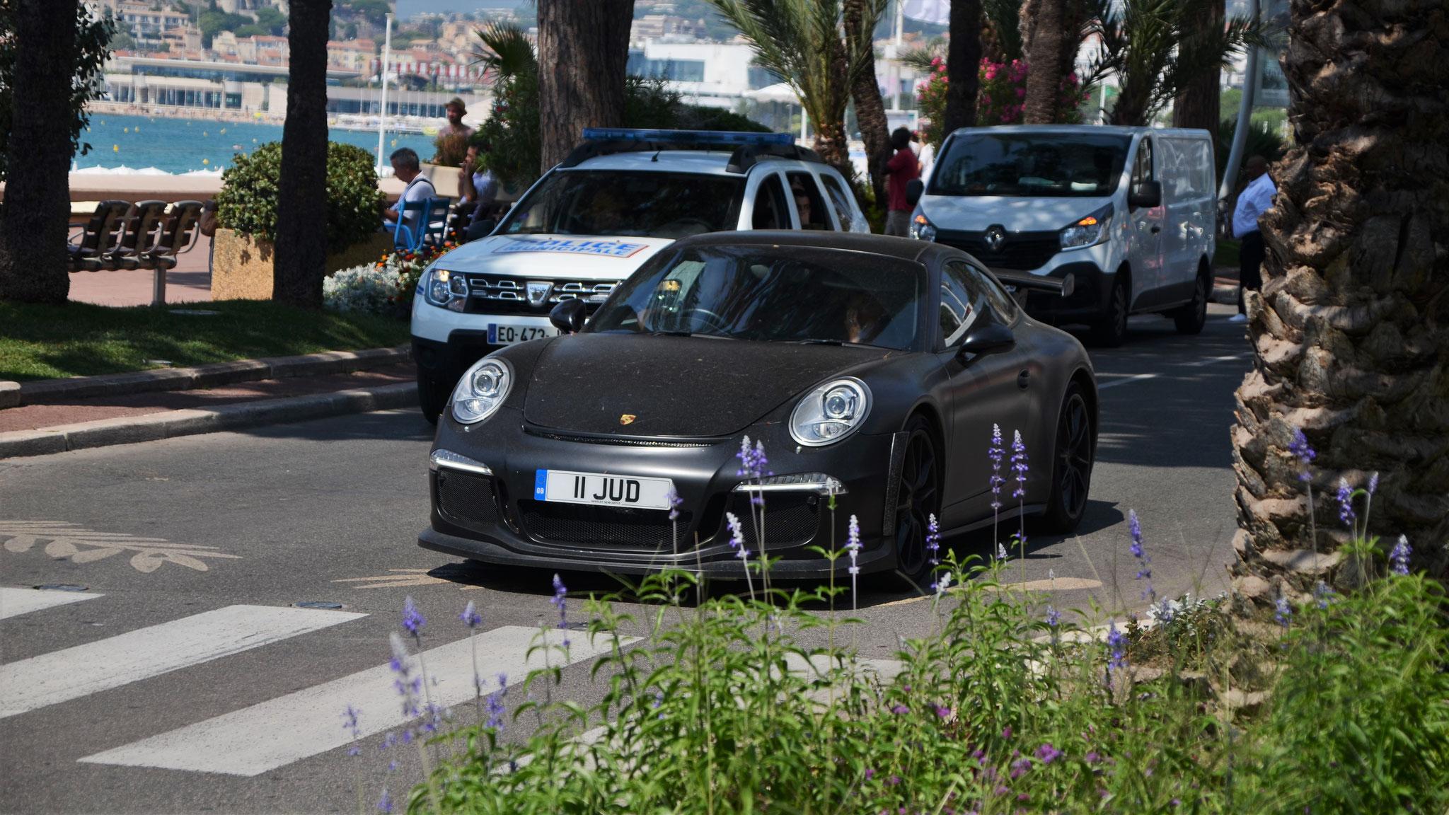 Porsche 991 GT3 - 11-JUD (GB)