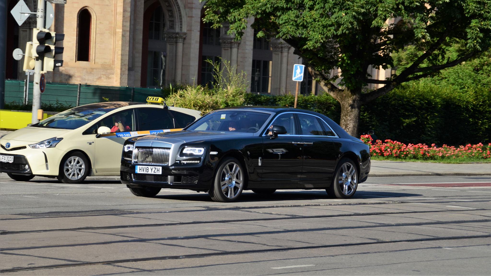 Rolls Royce Ghost Series II - HV18-YZH (GB)