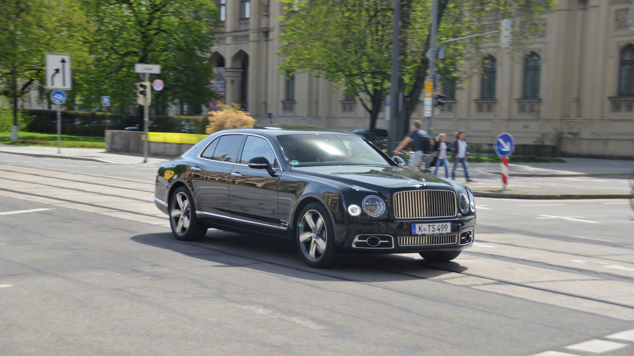 Bentley Mulsanne - K-TS-499