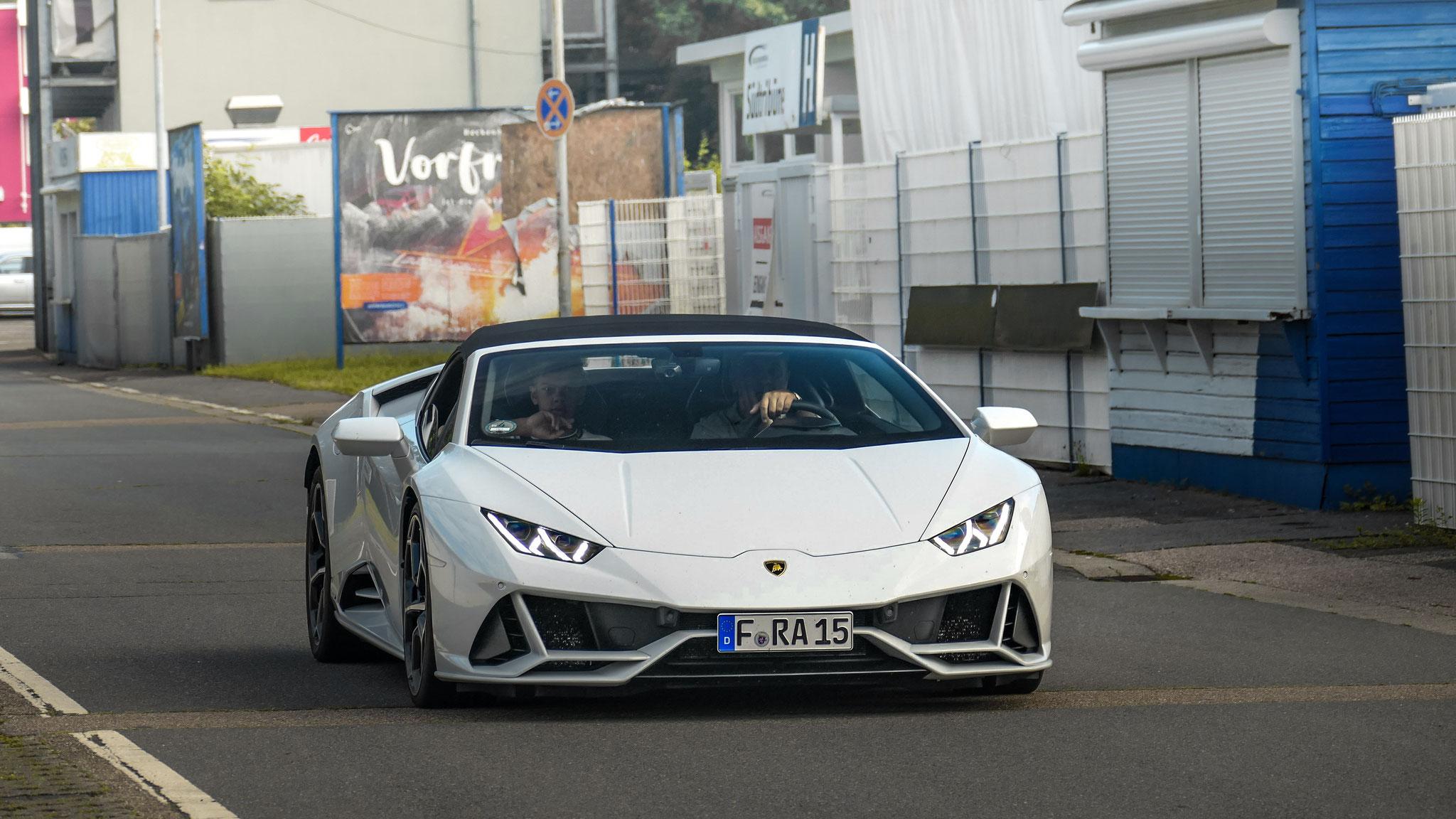 Lamborghini Huracan Evo Spyder - F-RA-15