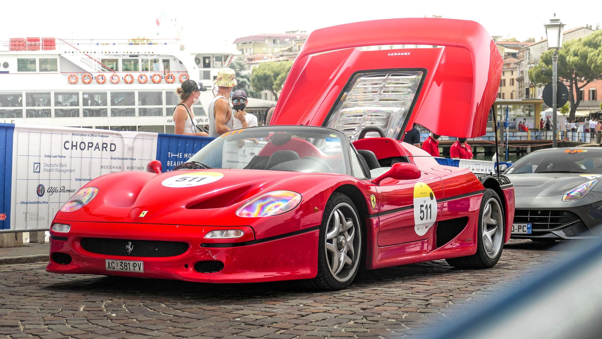Ferrari F50 - AG-381-PV (ITA)