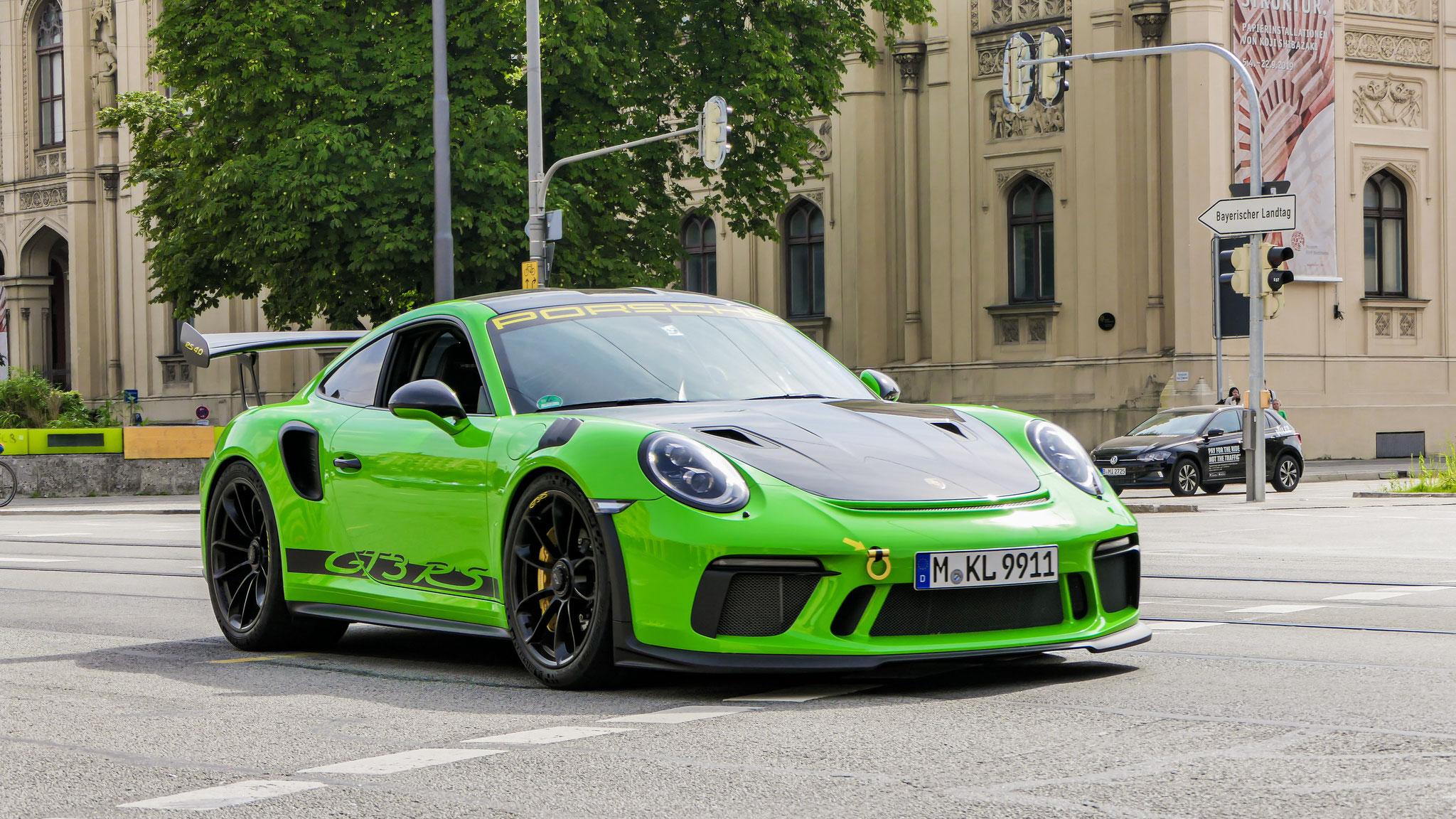Porsche 911 991.2 GT3 RS - M-KL-9911