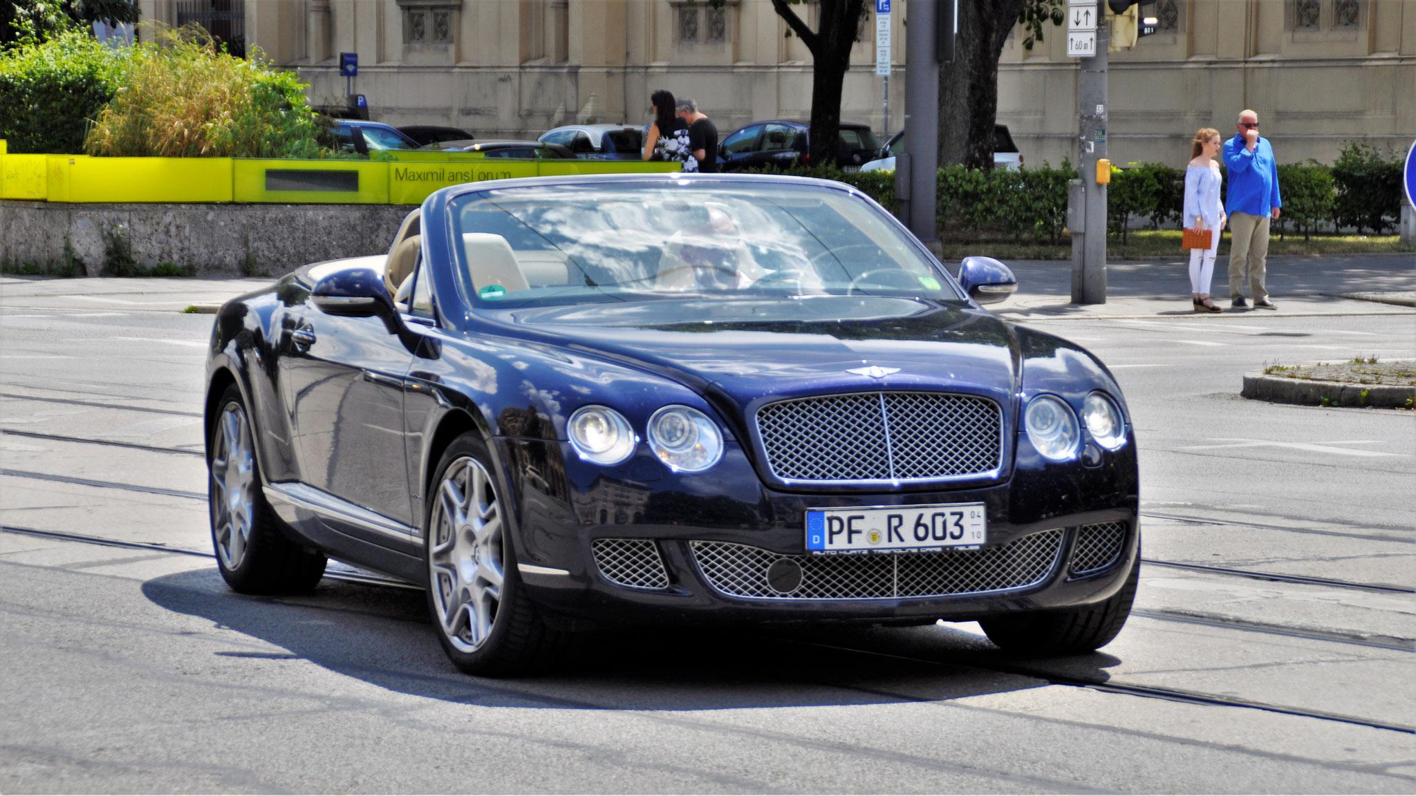 Bentley Continental GTC W12 - PF-R-603