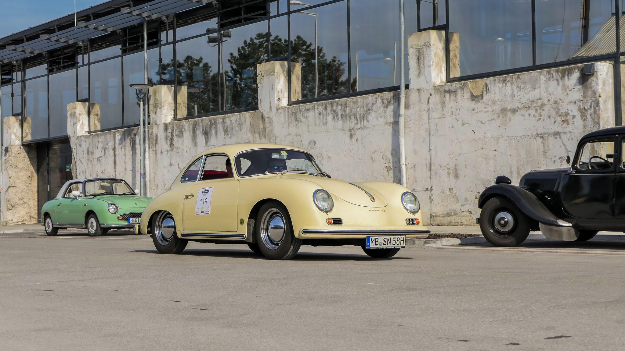 Porsche 356 1600 - MB-SN-58H