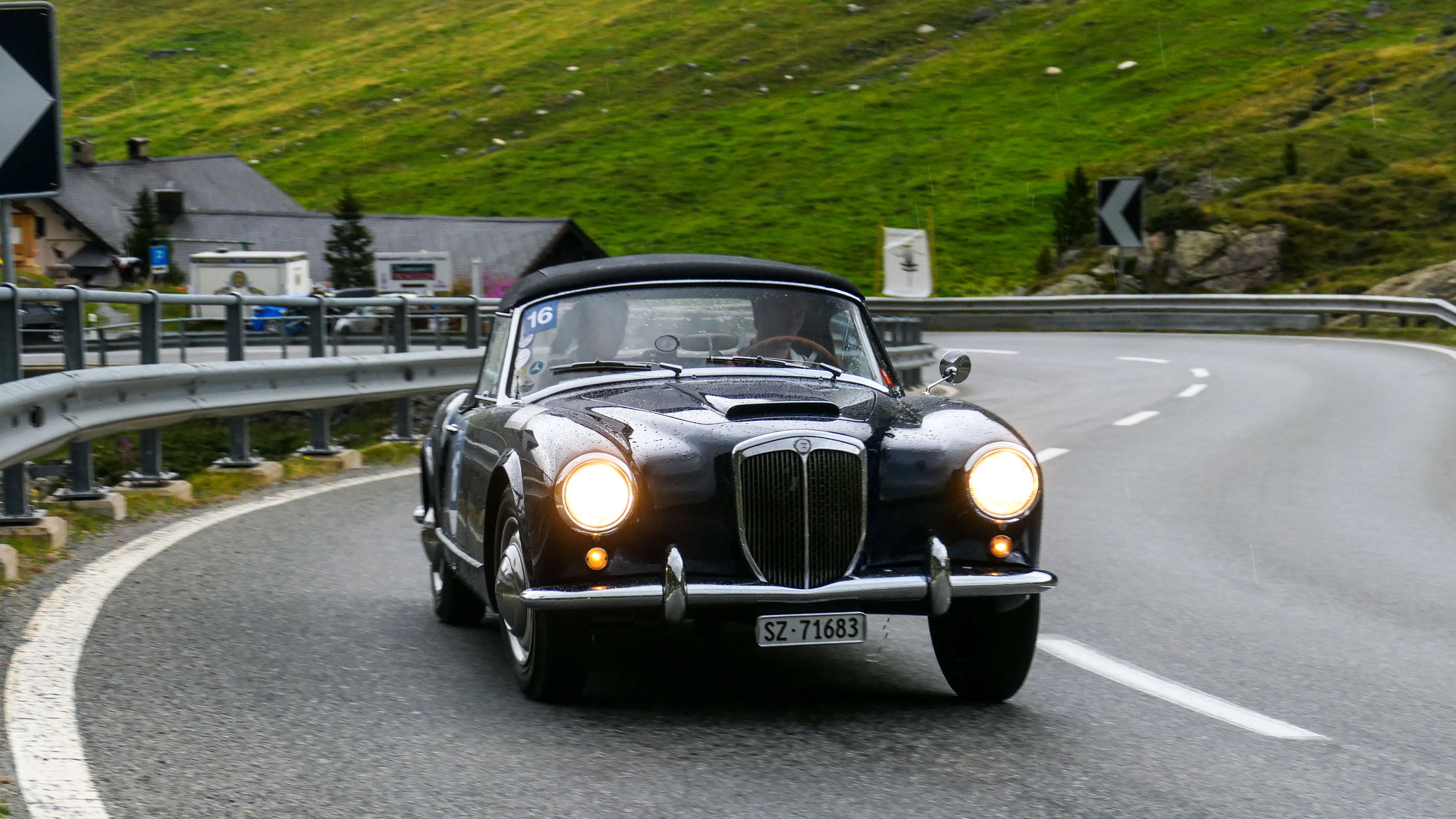 Lancia Aurelia B24 Spider - SZ-71683 (CH)