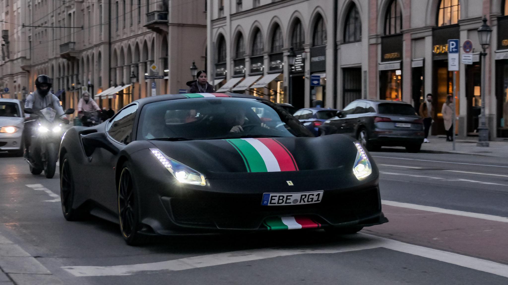 Ferrari 488 Pista - EBE-RG-1