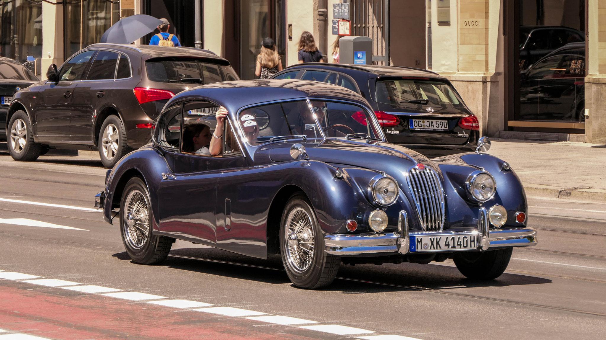 Jaguar XK 140 FHC - M-XK-4140H