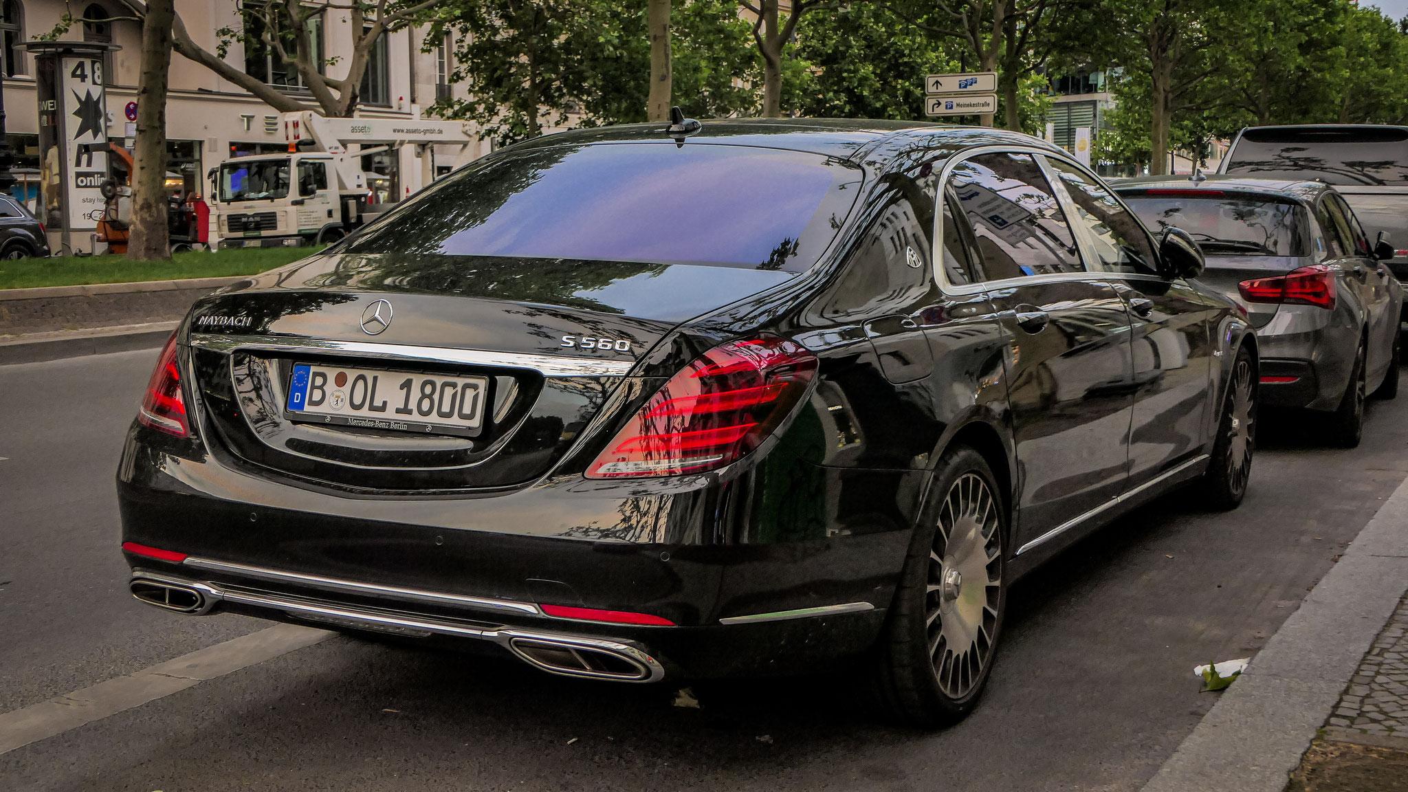 Mercedes Maybach S560 - B-OL-1800
