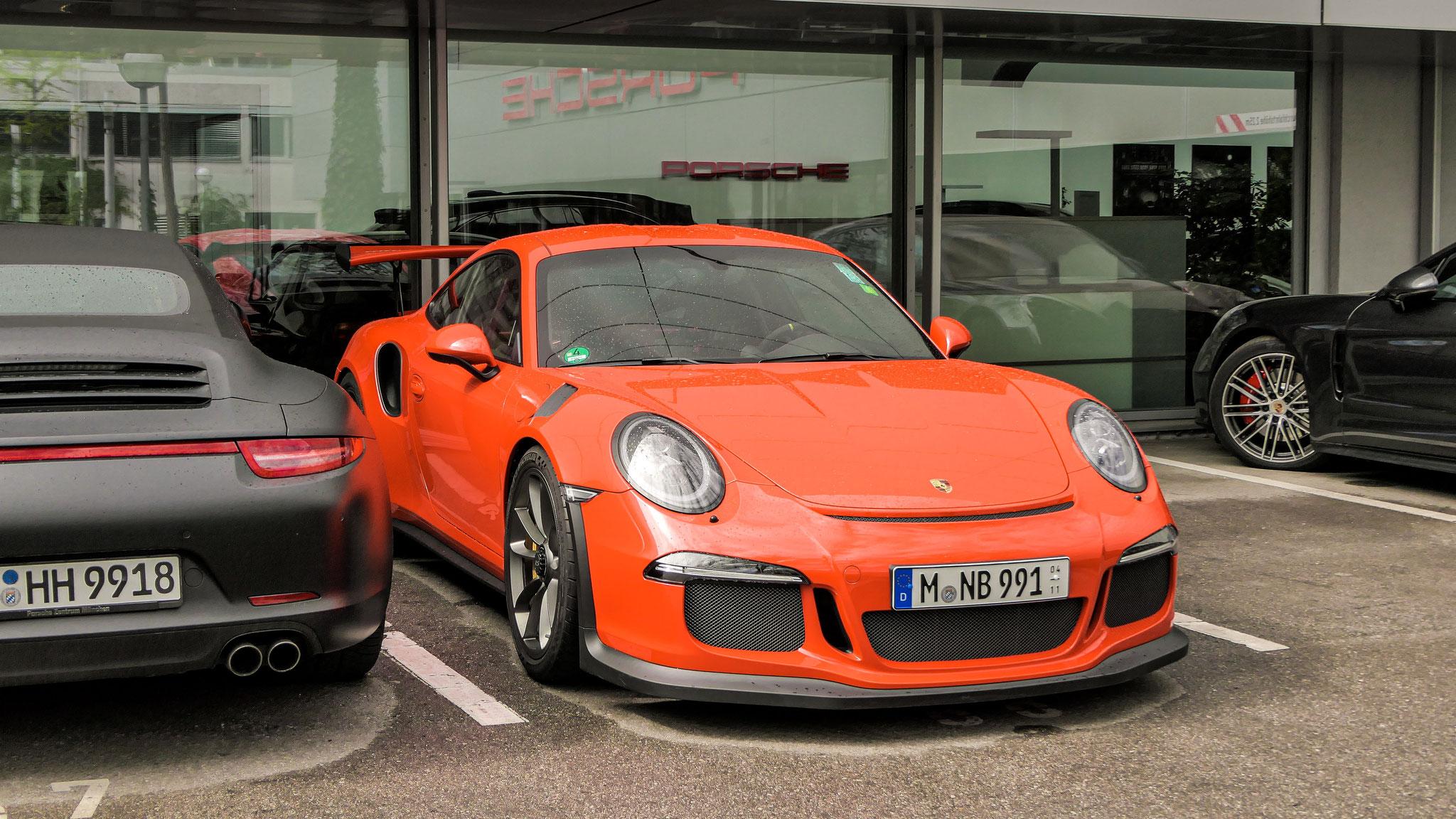 Porsche 911 GT3 RS - M-NB-991