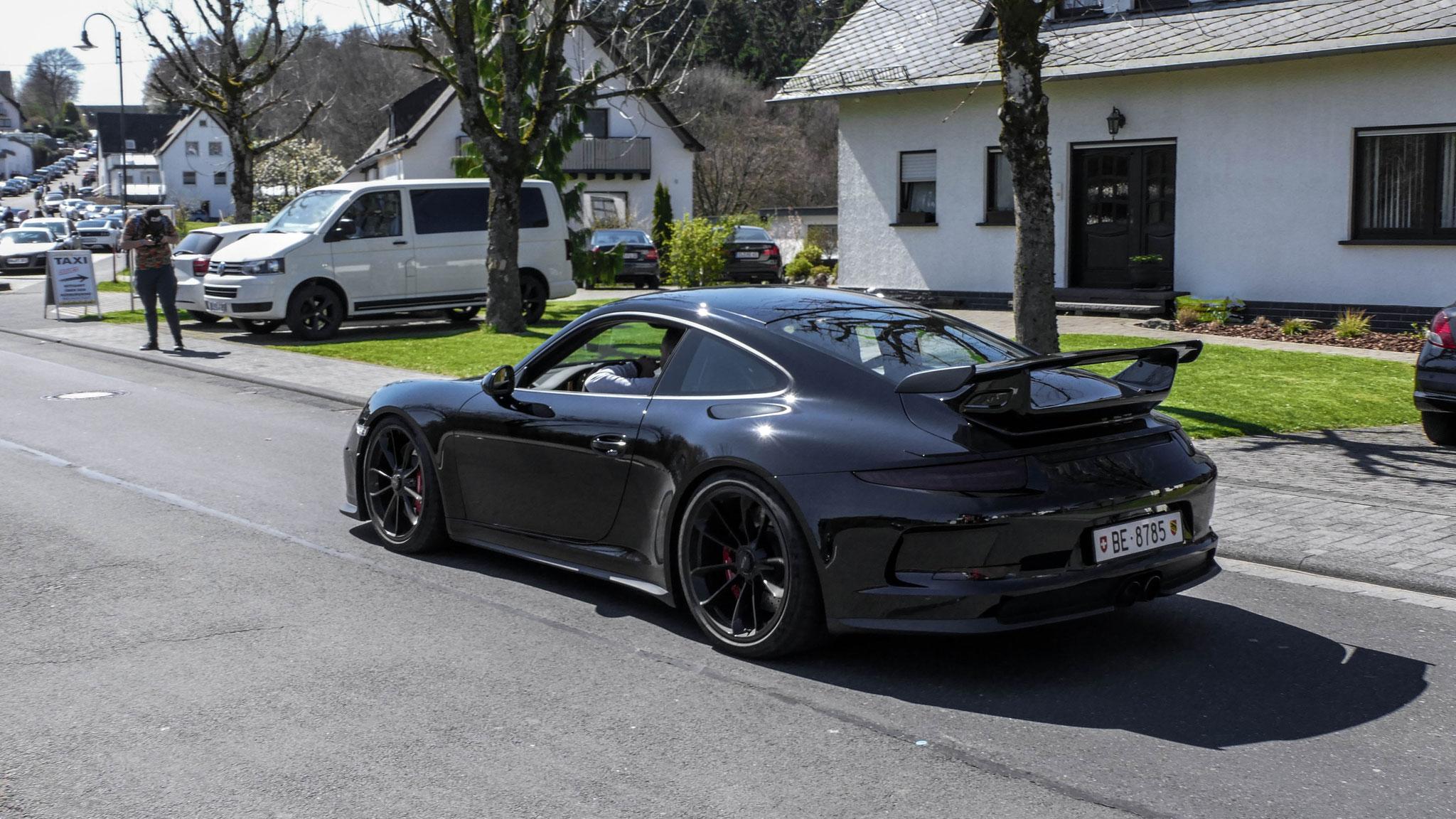 Porsche 991 GT3 - BE-8785 (CH)