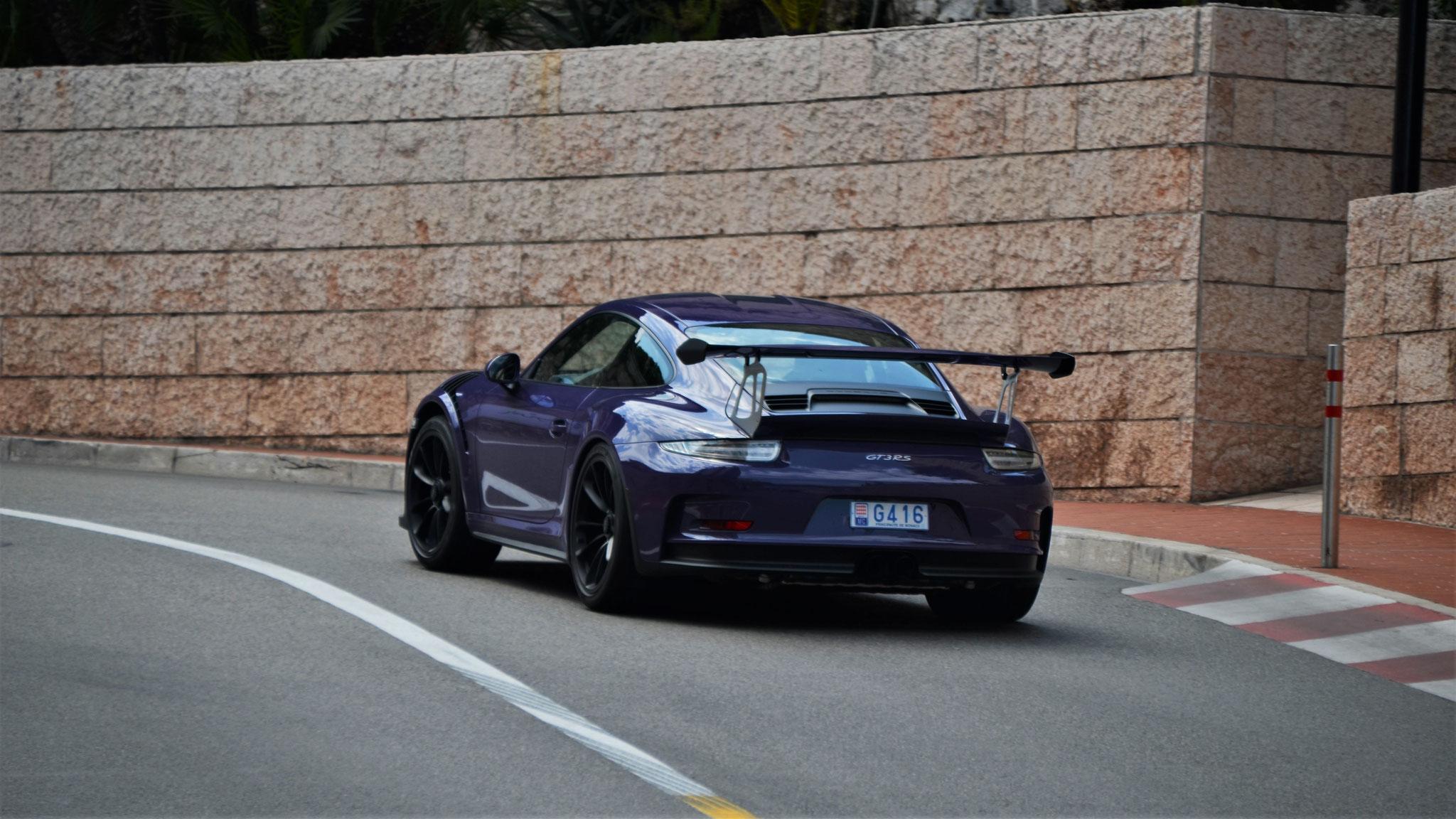 Porsche 911 GT3 RS - G416 (MC)