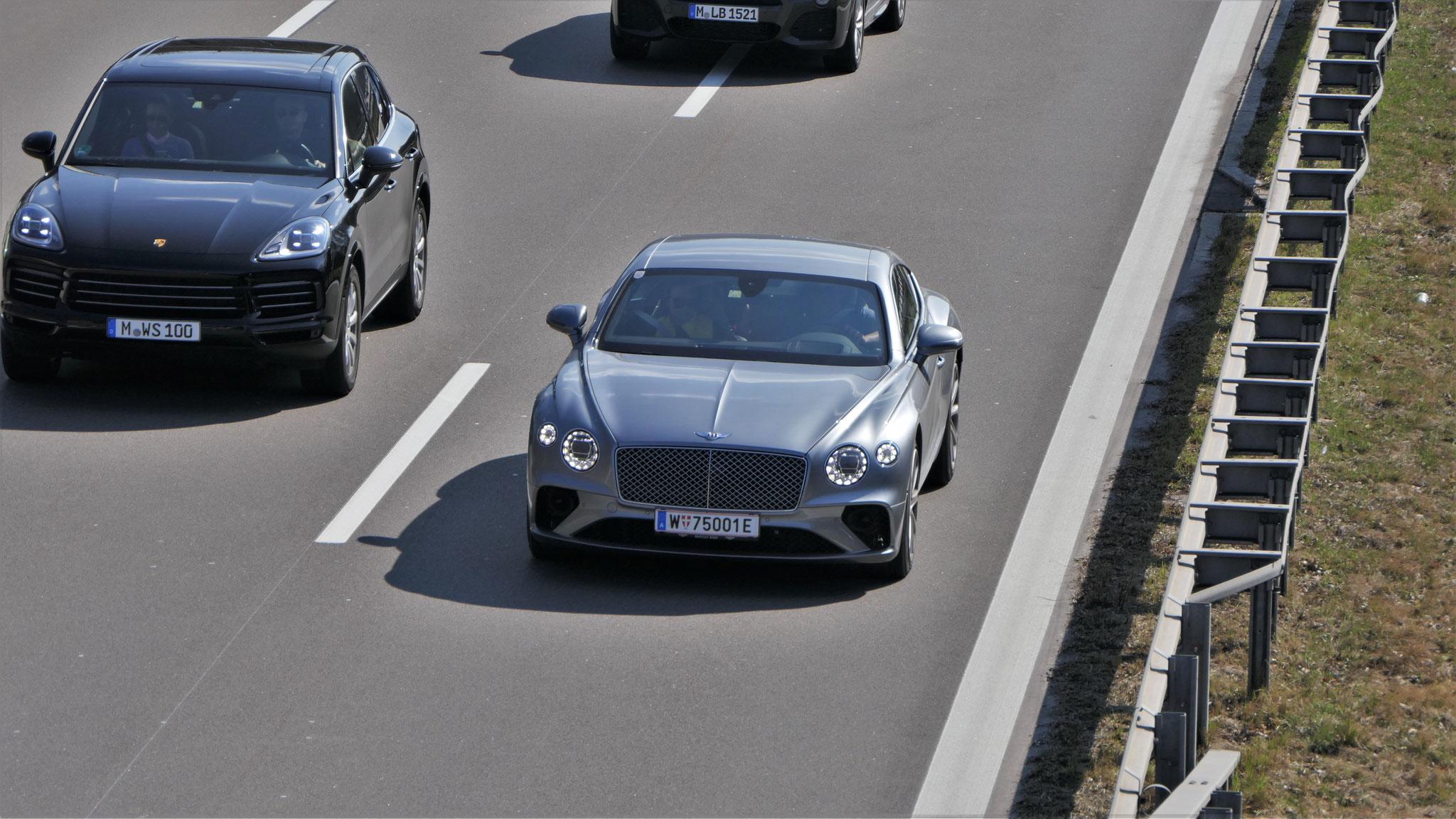 Bentley Continental GT - W-75001-E (AUT)