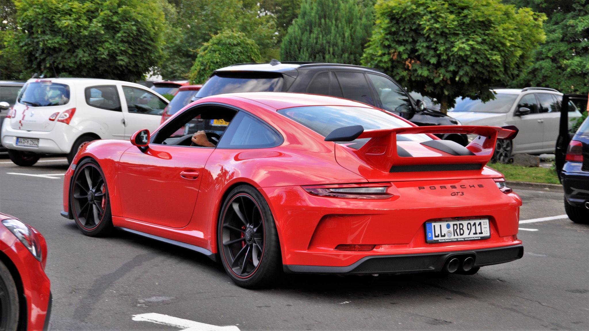 Porsche 991 GT3 - LL-RB-911