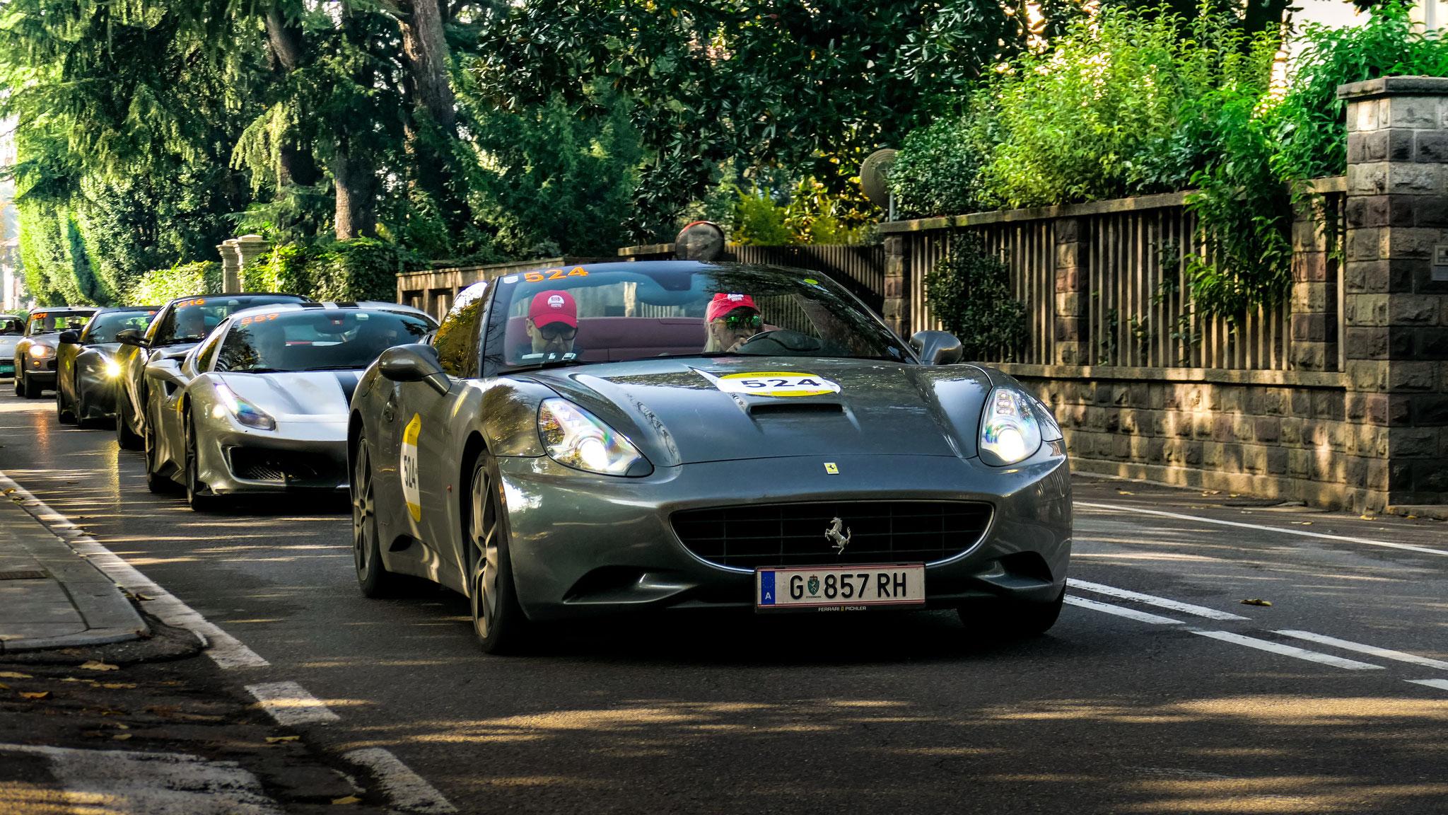 Ferrari California - G-857-RH (AUT)