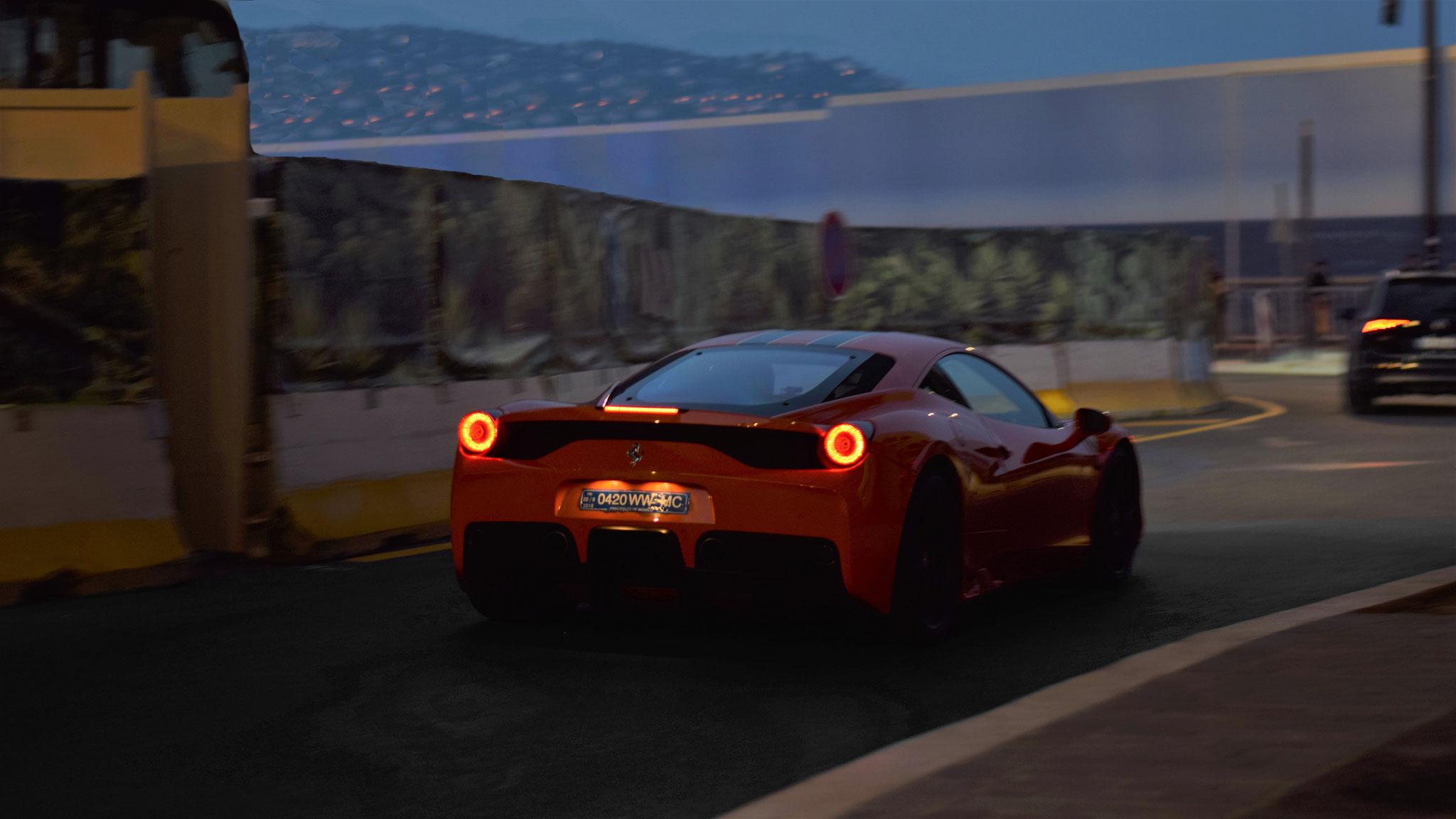 Ferrari 458 Speciale - 0420-WW-MC (MC)