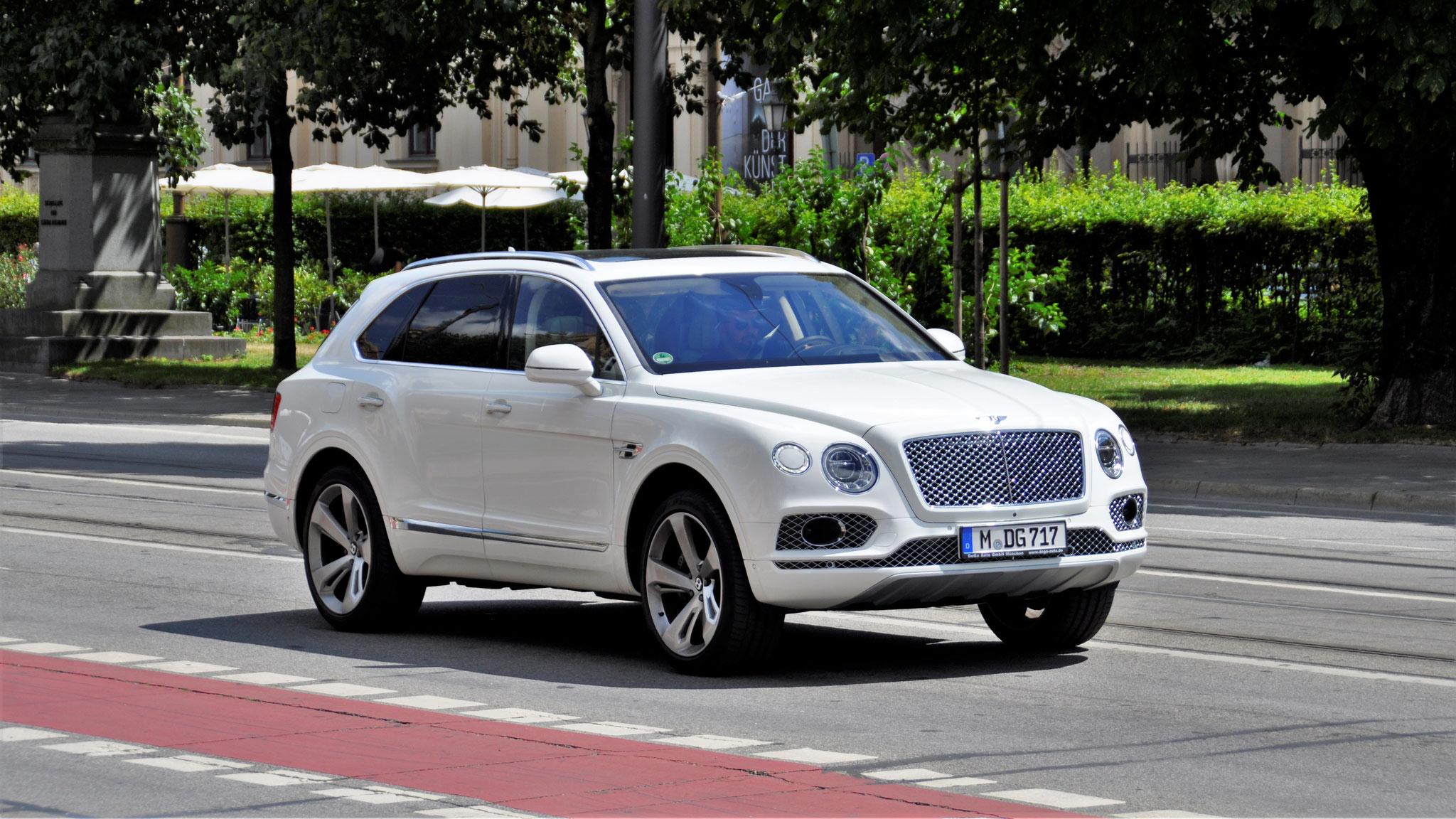 Bentley Bentayga - M-DG-717