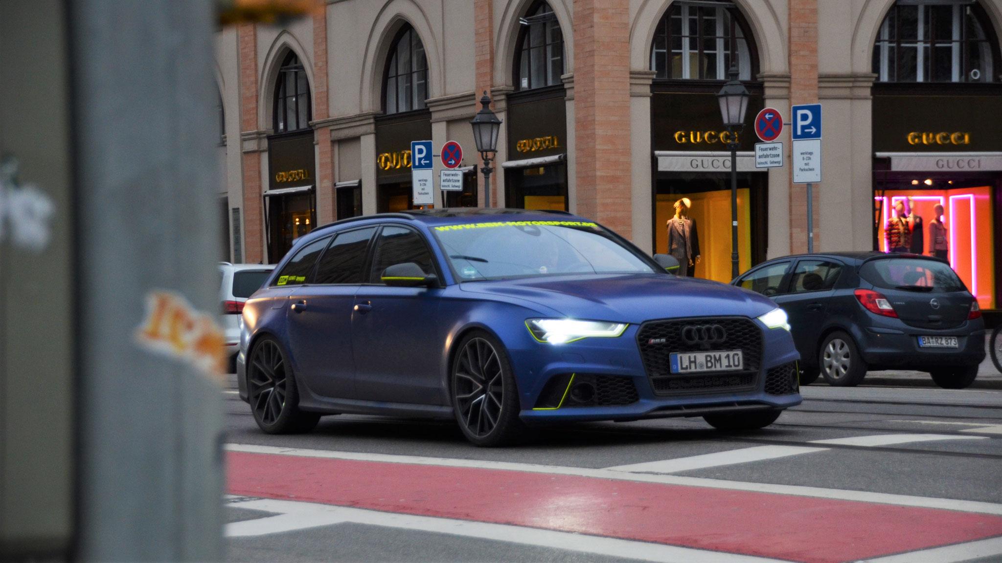 Audi RS6 - LM-BM-10