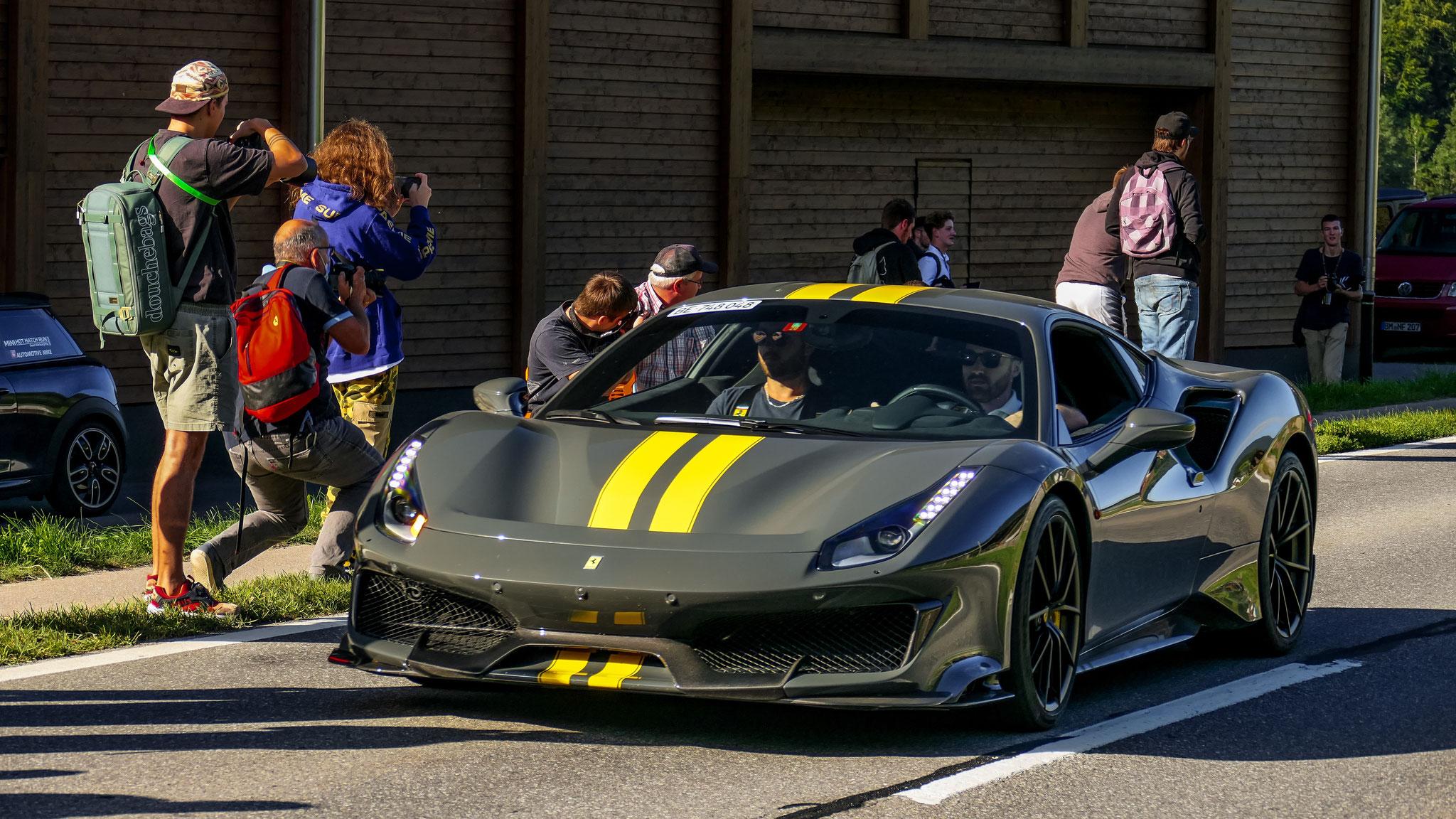 Ferrari 488 Pista - BE-748048 (CH)
