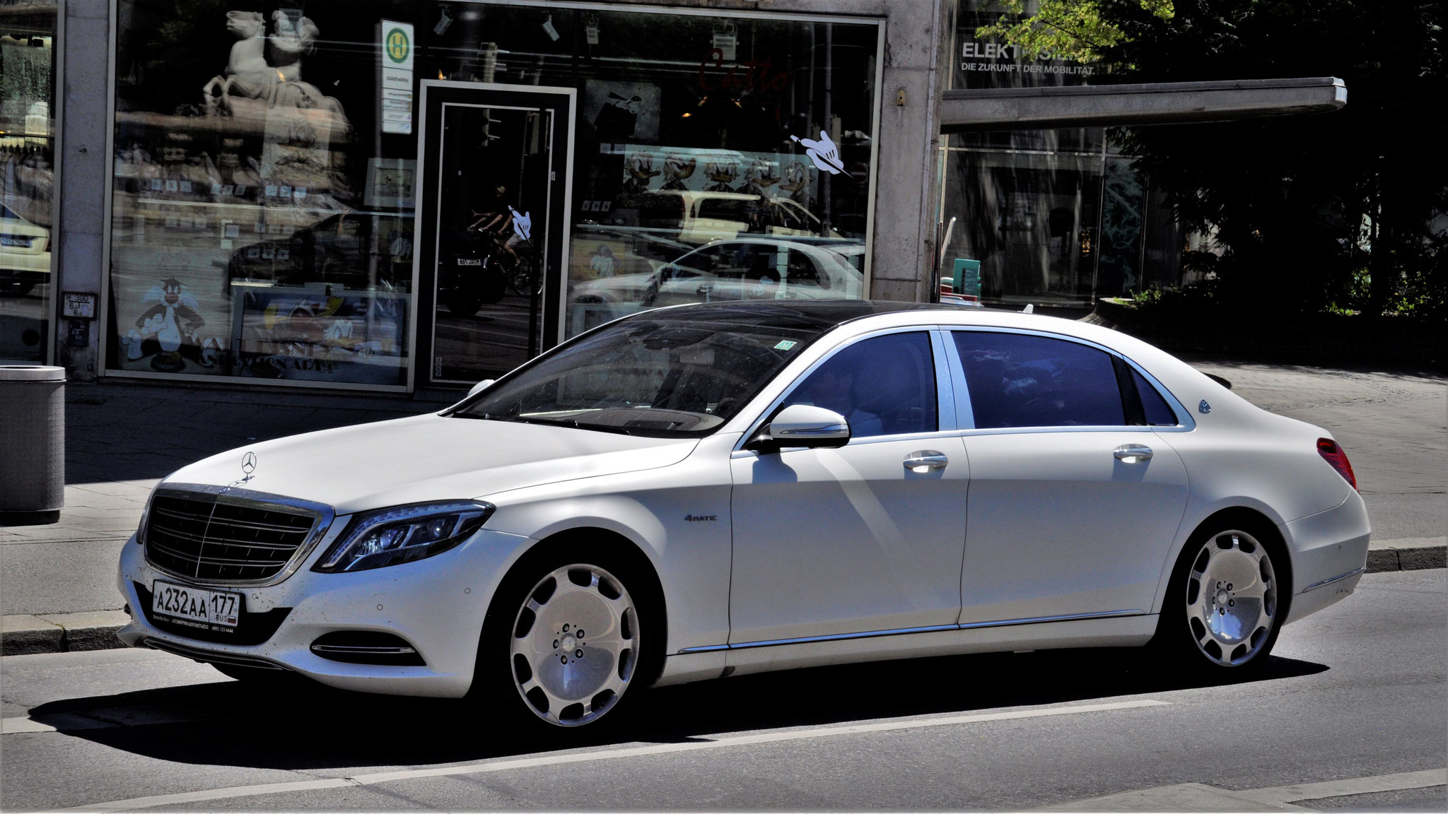 Mercedes Maybach S500 - A-232-AA-177 (RUS)