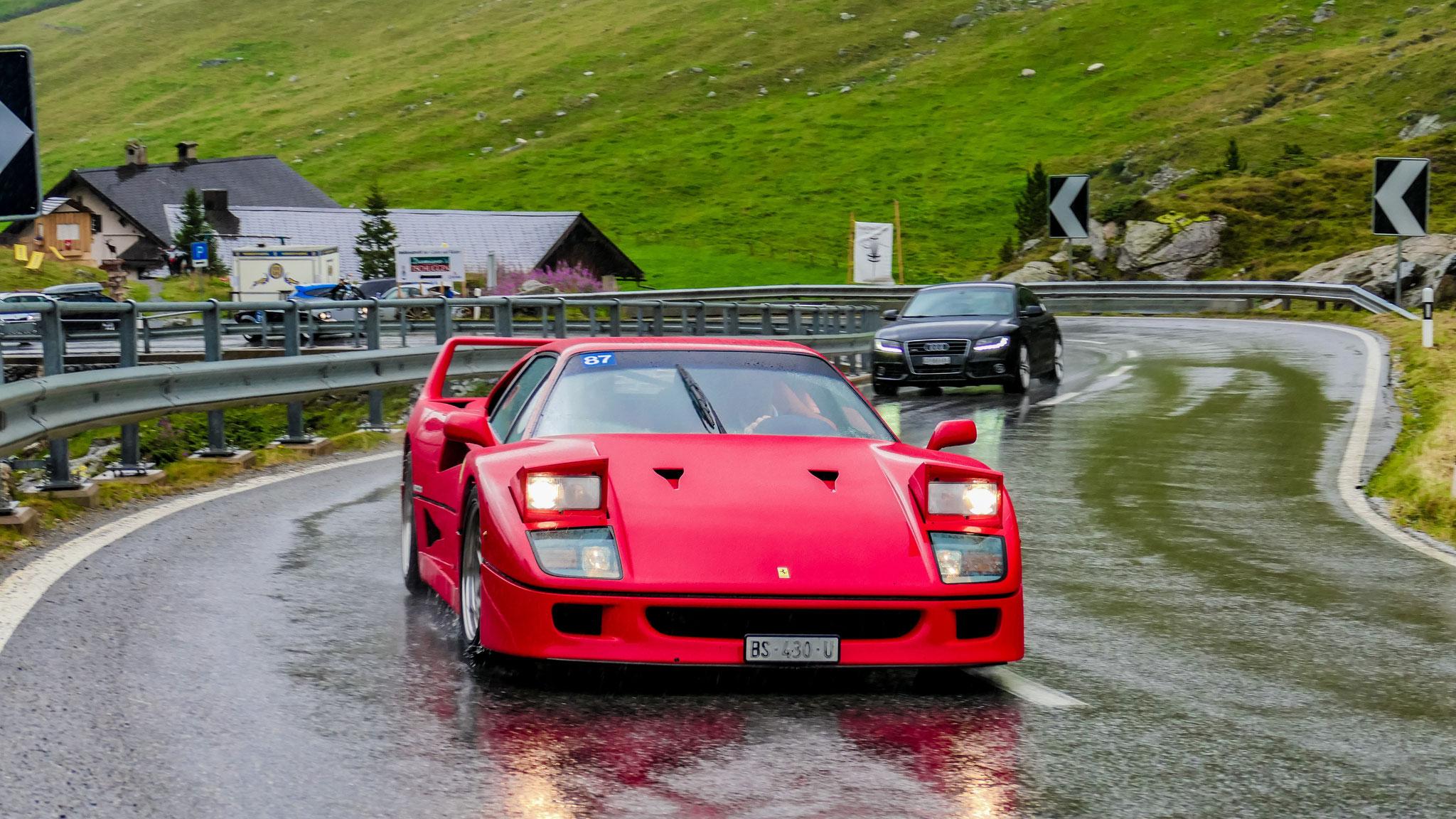 Ferrari F40 - BS-430-U (CH)