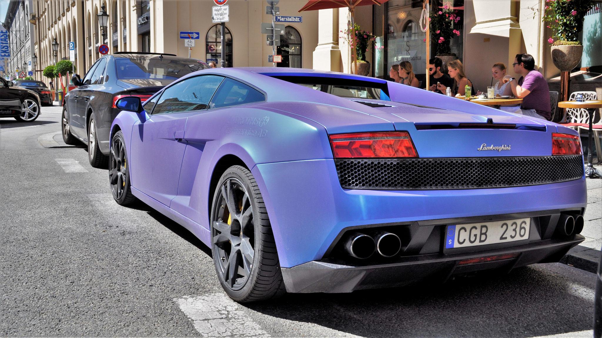 Lamborghini Gallardo LP 550 - CB-236 (SWE)