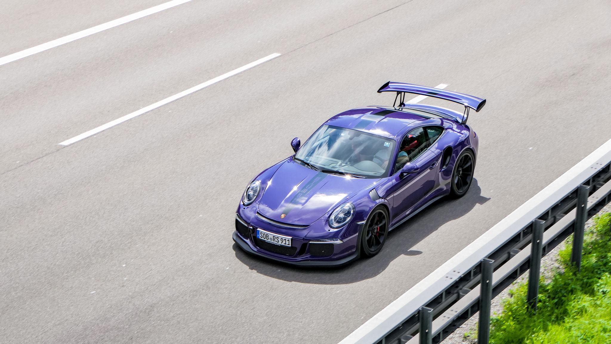 Porsche 911 GT3 RS - SOB-RS-911