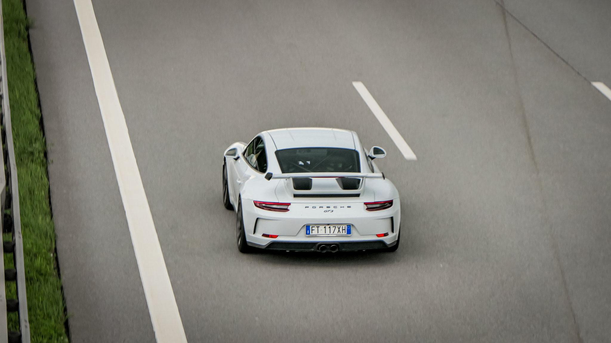 Porsche 991 GT3 - FT-117-XH (ITA)