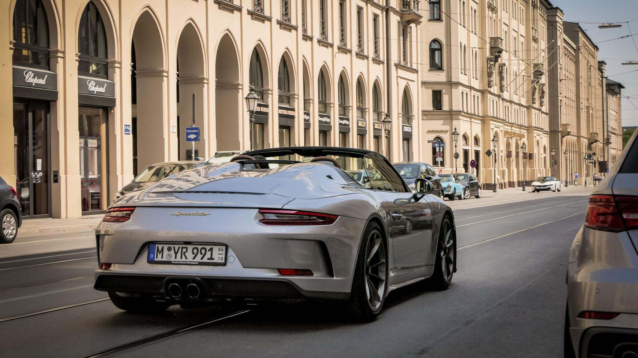 Porsche 991 Speedster - M-YR-991