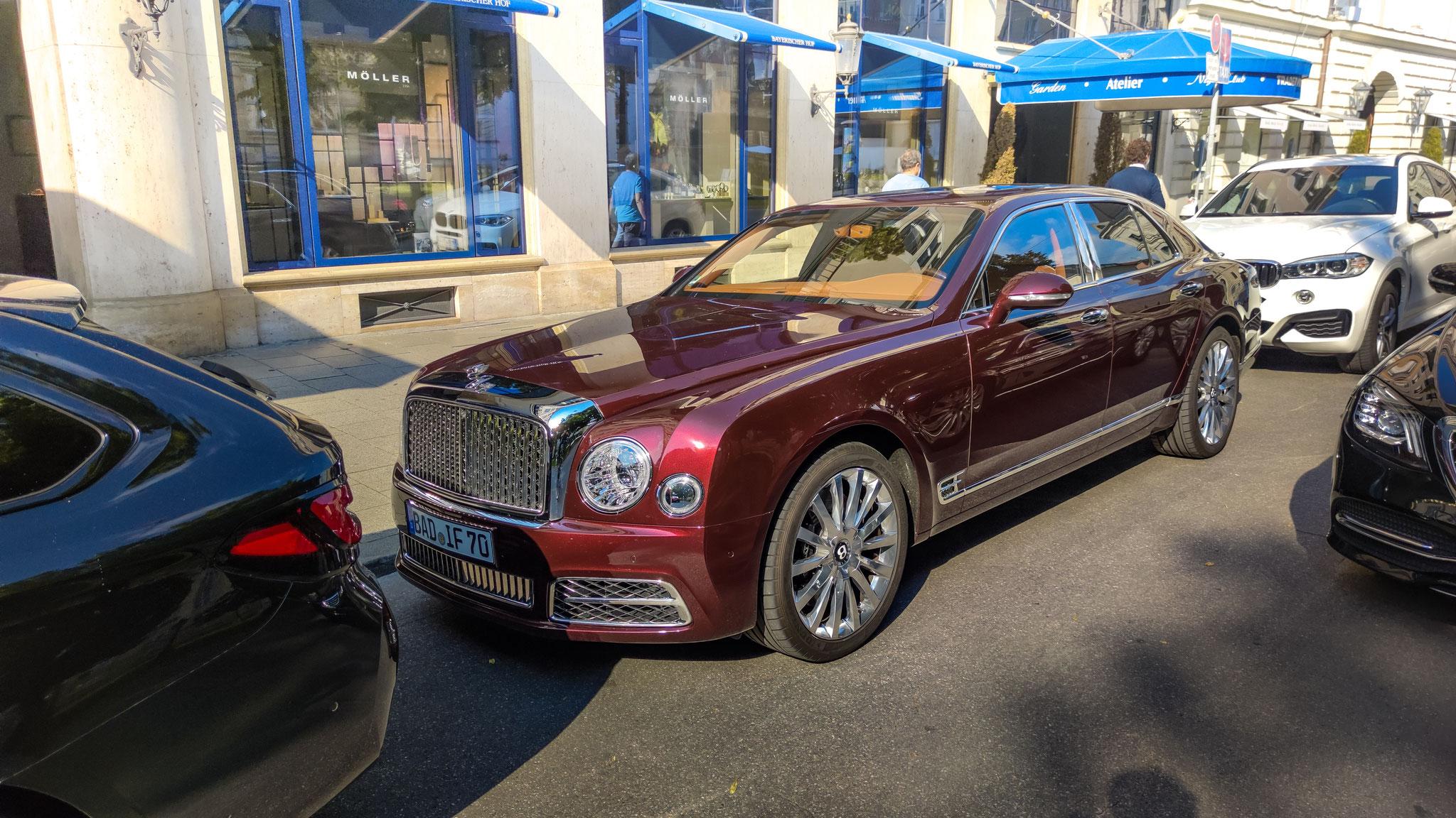 Bentley Mulsanne - BAD-IF-70