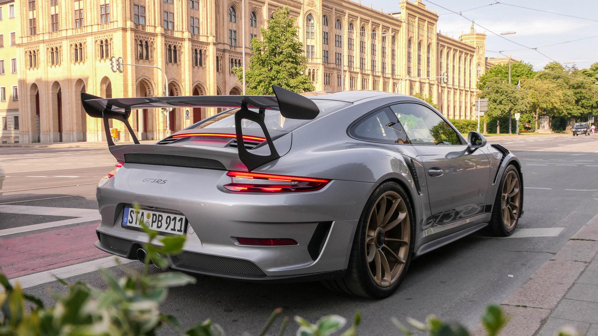 Porsche 911 991.2 GT3 RS - STA-PB-911