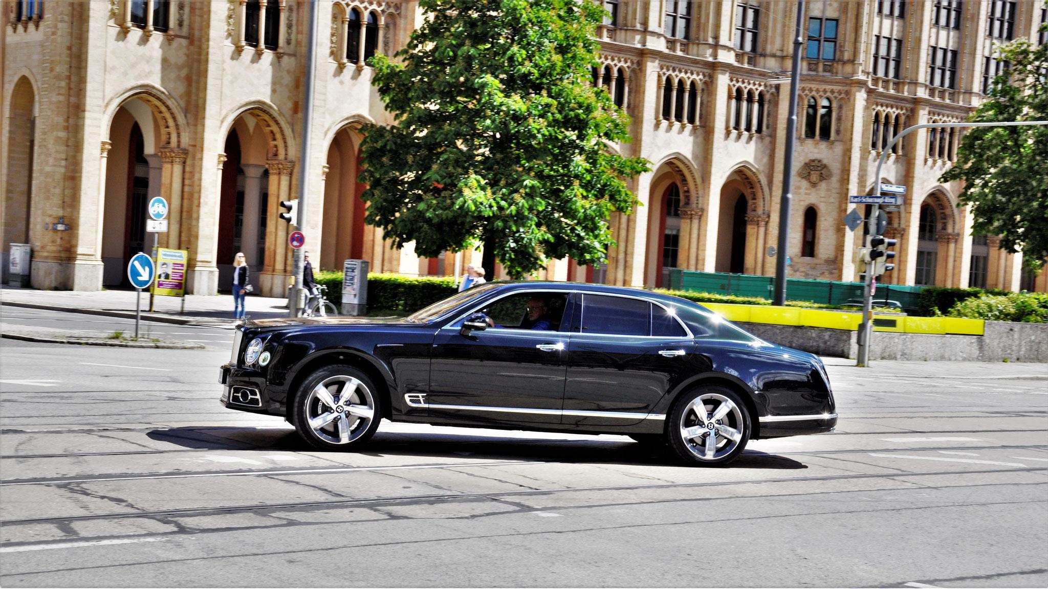 Bentley Mulsanne Speed - M-BM-879