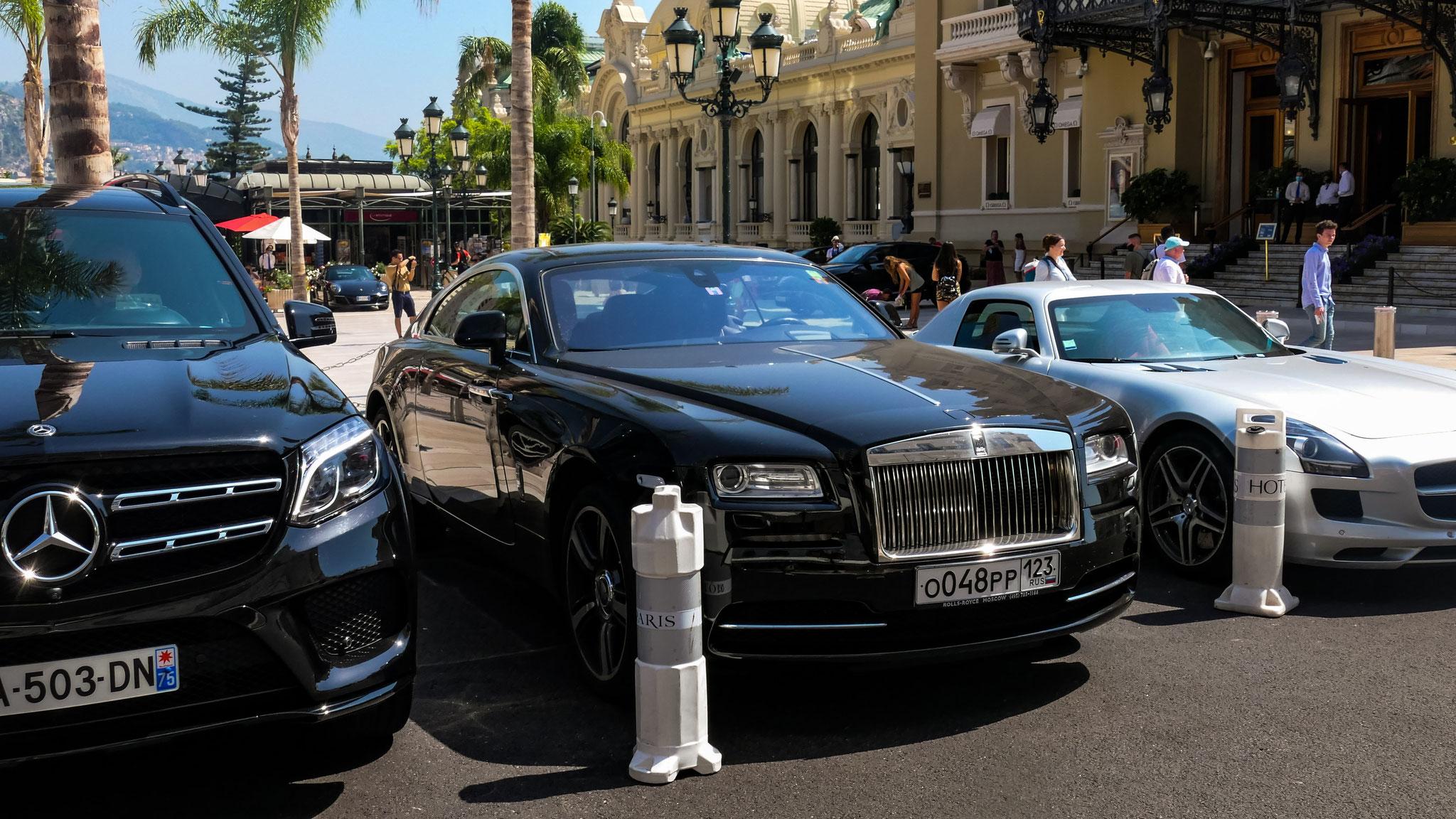 Rolls Royce Wraith - O-048-PP-123 (RUS