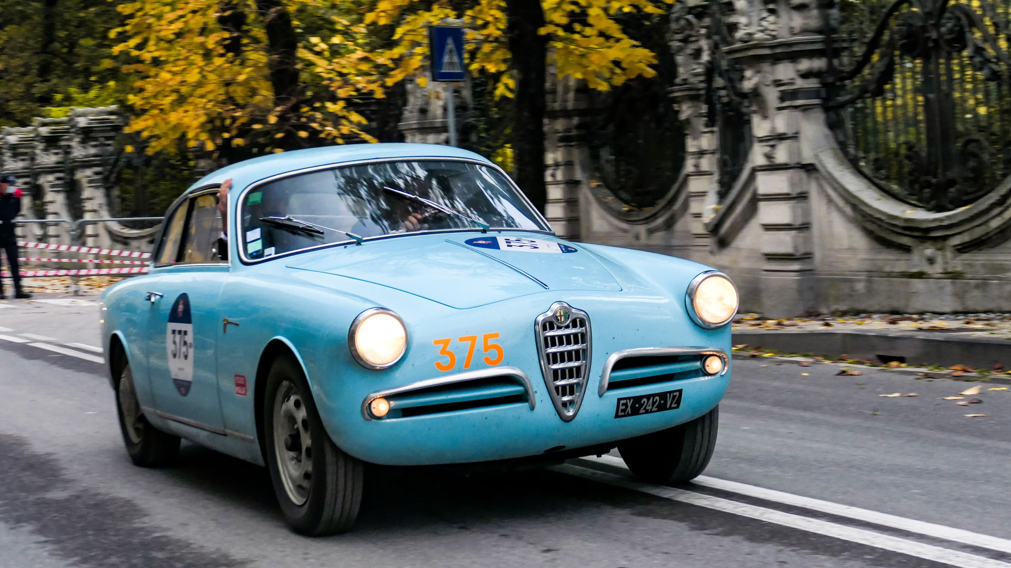 Alfa Romeo Giulietta Sprint Veloce - EX-242-VZ (FRA)