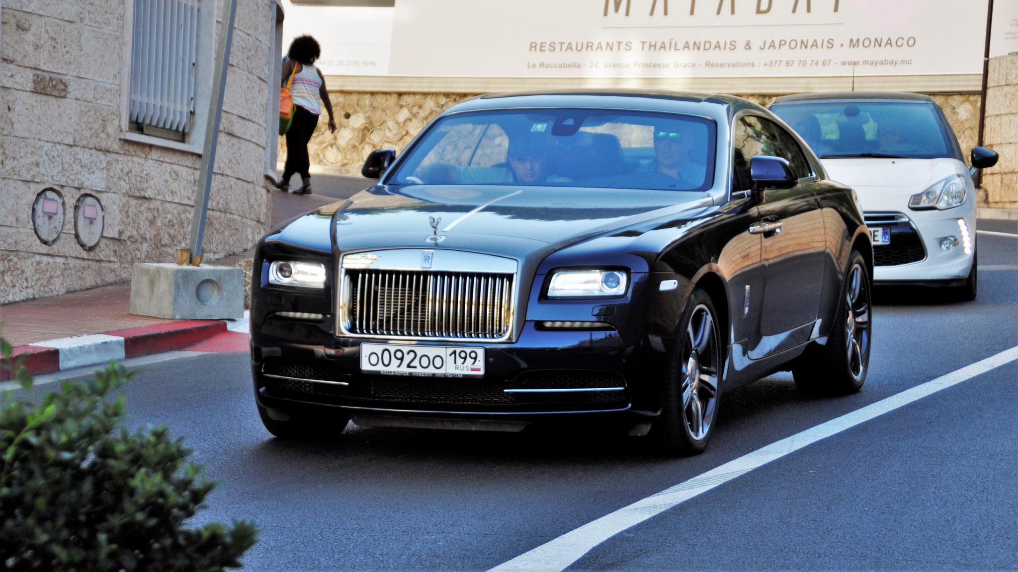 Rolls Royce Wraith - O-092-OO-199 (RUS)