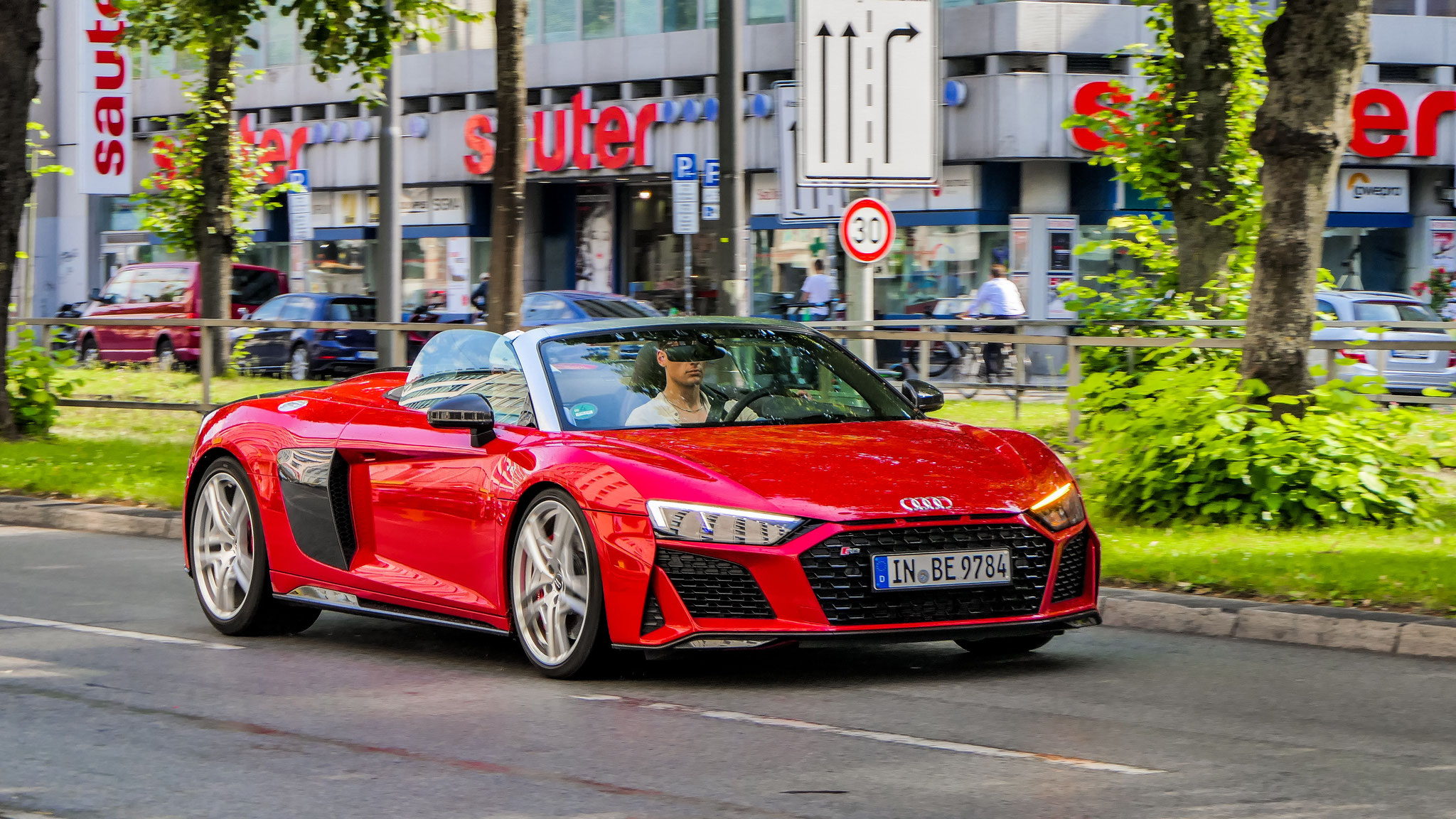 Audi R8 V10 Spyder - IN-BE-9784