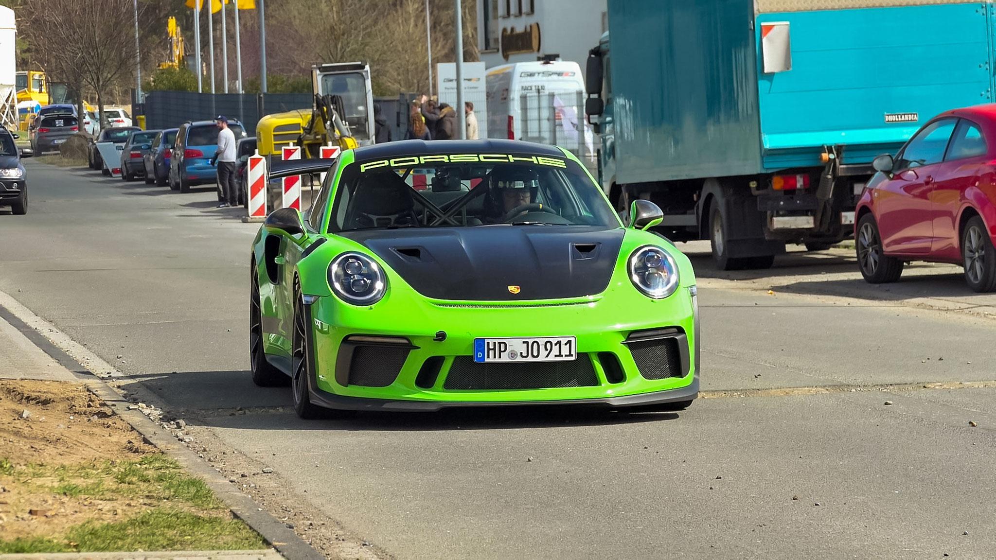 Porsche 911 991.2 GT3 RS - HP-JP-911