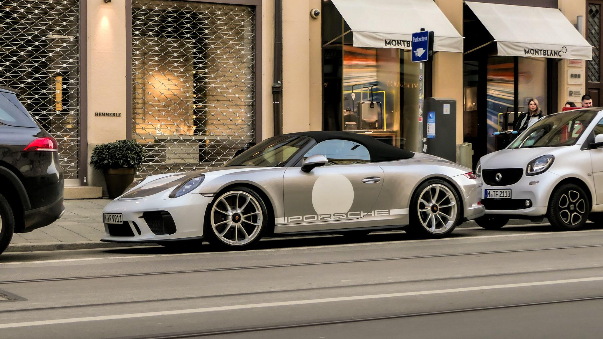 Porsche 991 Speedster - M-YR-9911
