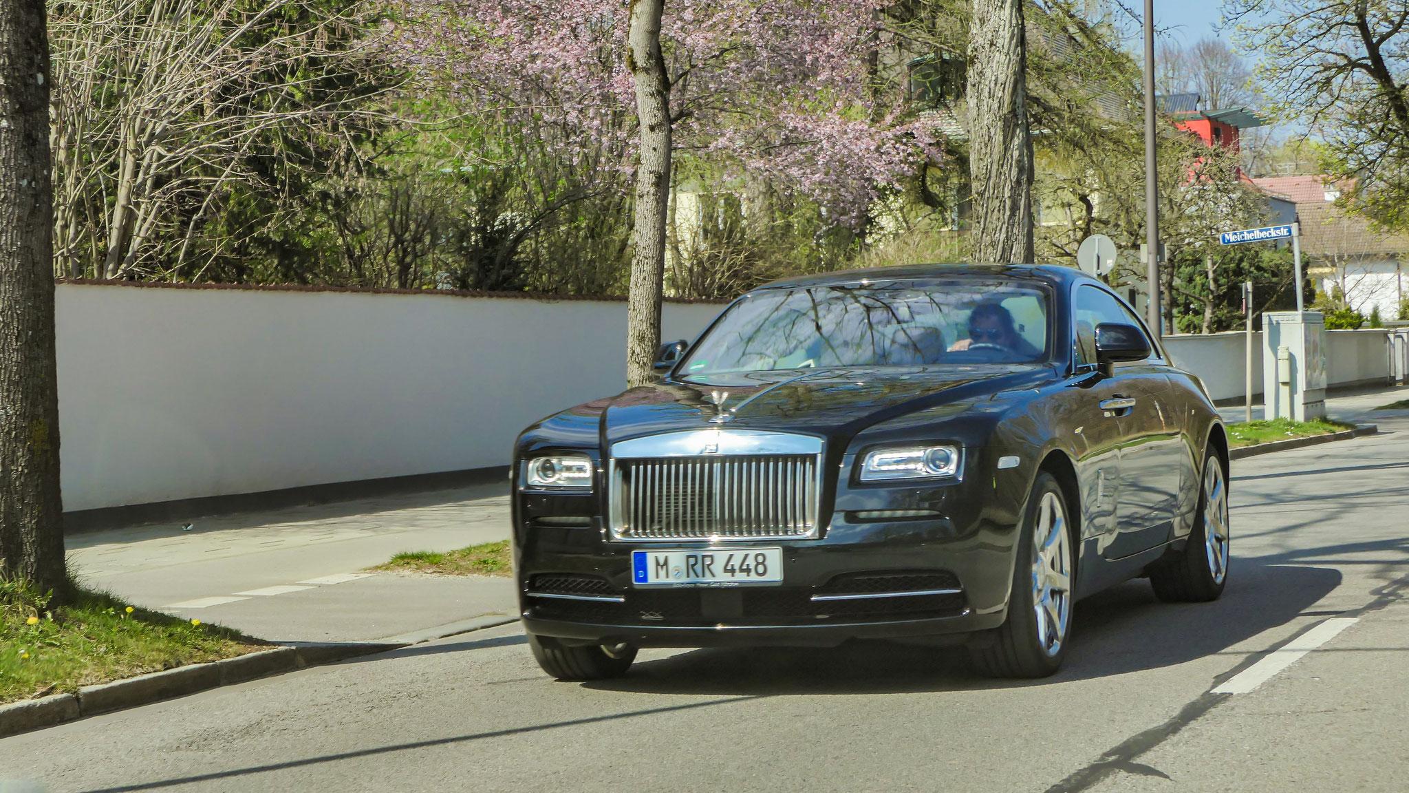 Rolls Royce Wraith - M-RR-448