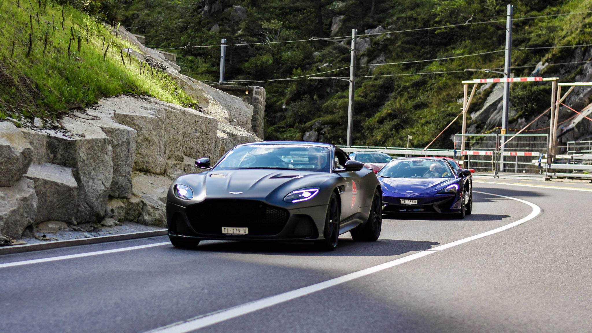 Aston Martin DBS Superleggera - TI-179-U (CH)
