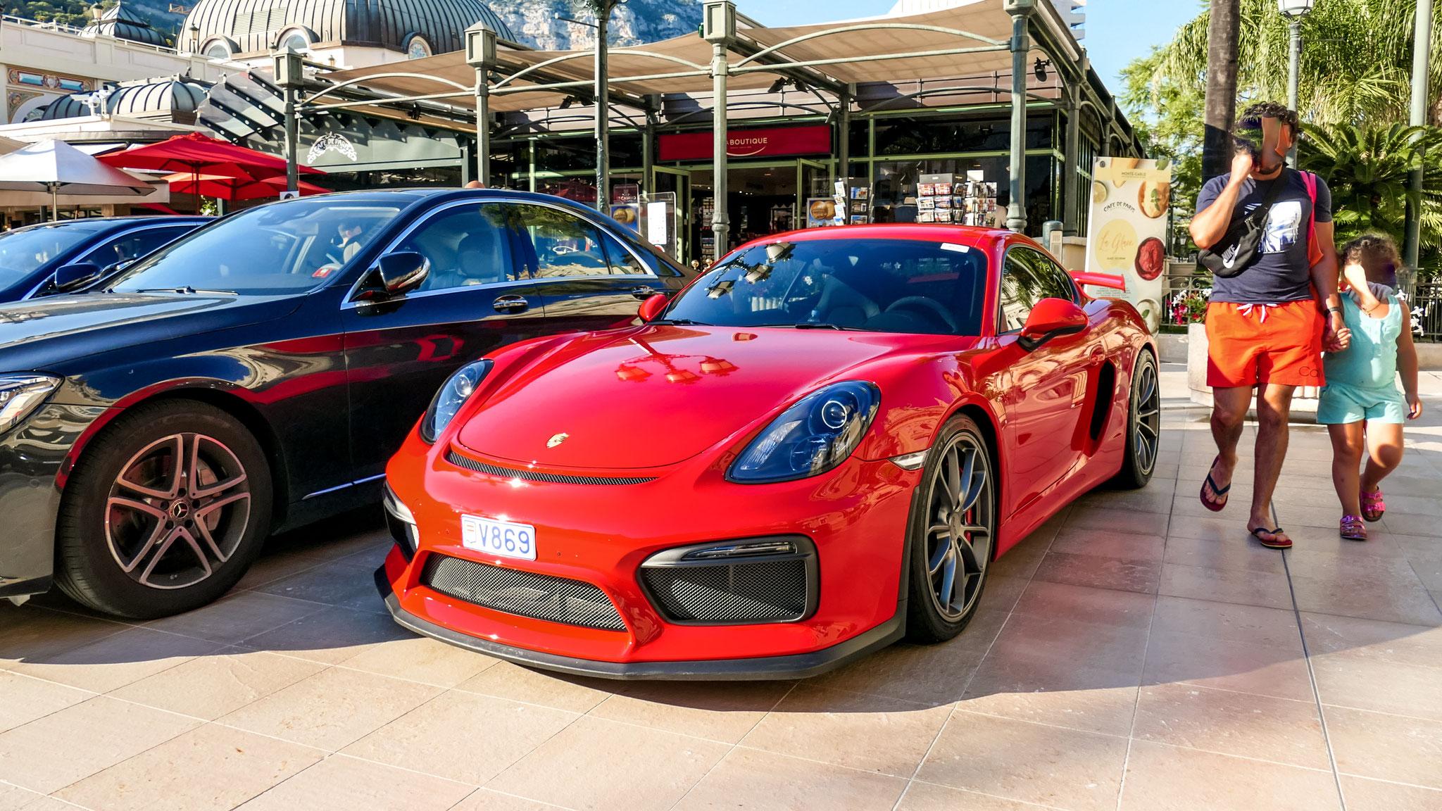Porsche Cayman GT4 - V869 (MC)
