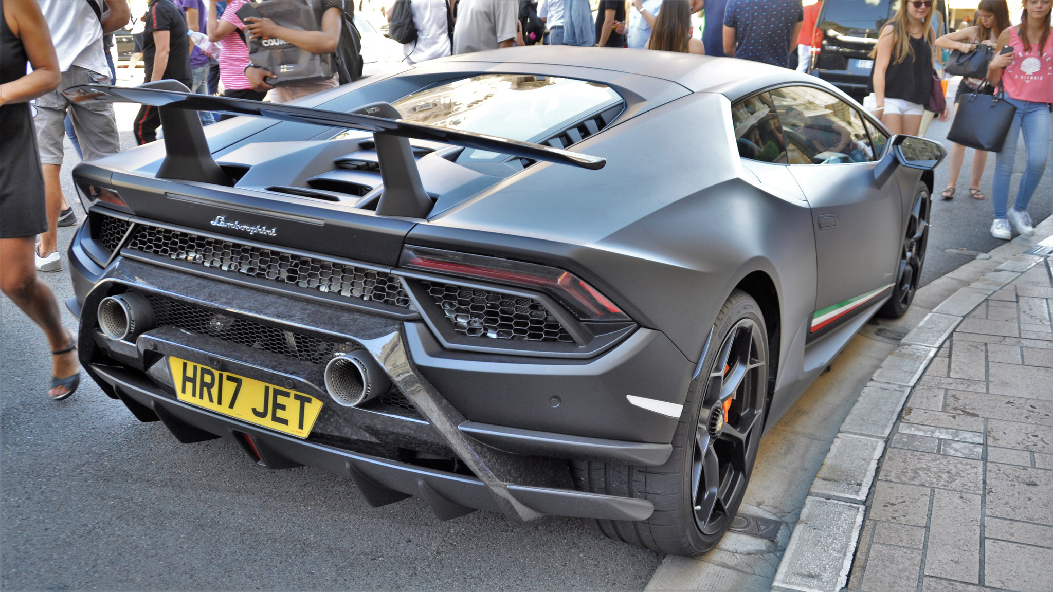 Lamborghini Huracan Performante - HR17-JET (GB)